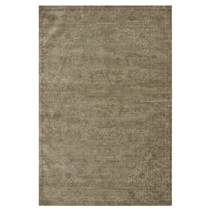 Keever Taupe Area Rug Rug Size: Rectangle 9'2