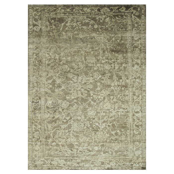 Leffel Hand-Knotted Pinecone Area Rug Rug Size: Rectangle 5'6