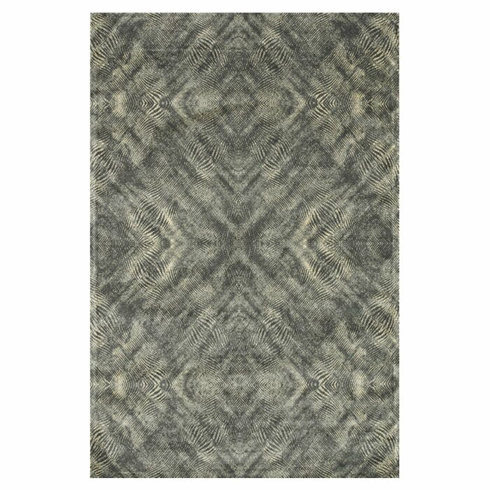 Keever Fog Gray Area Rug Rug Size: Rectangle 12' x 15'