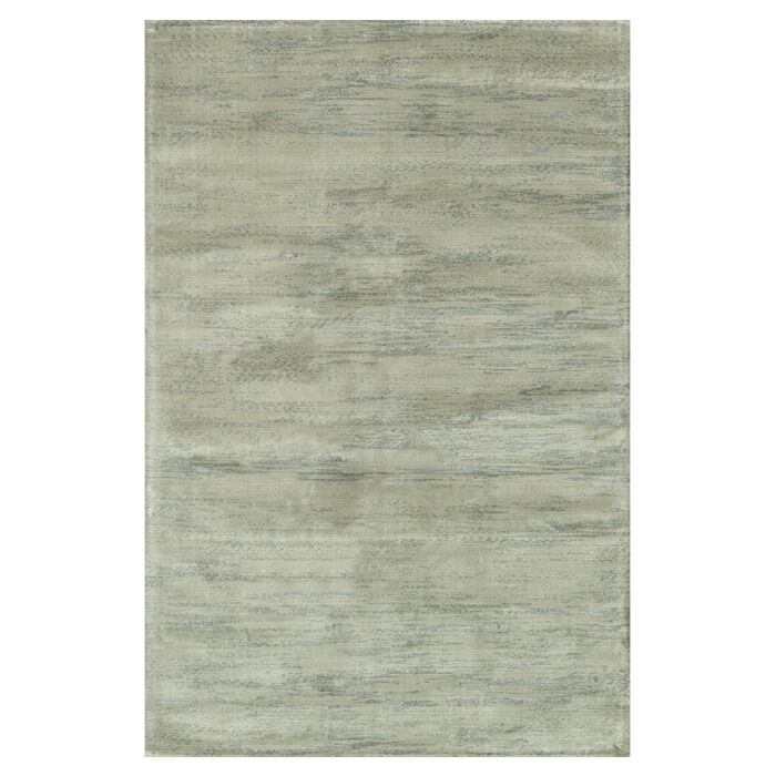 Keever Seafoam Gray Area Rug Rug Size: Rectangle 7'6