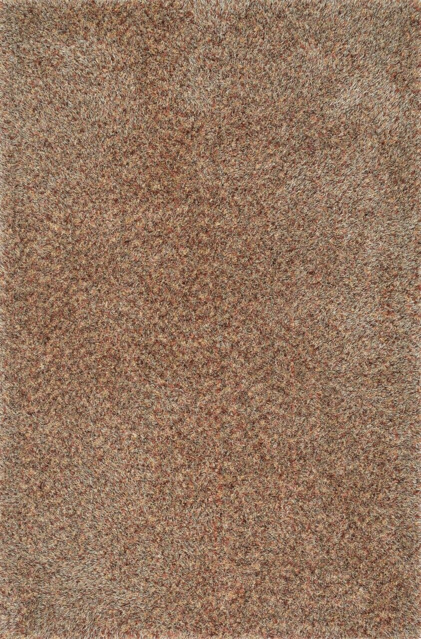 Hackel Hand-Tufted Brown Area Rug Rug Size: Rectangle 3'6
