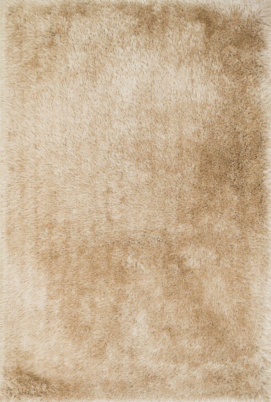 Hersi Hand-Tufted Beige Area Rug Rug Size: Rectangle 7'6
