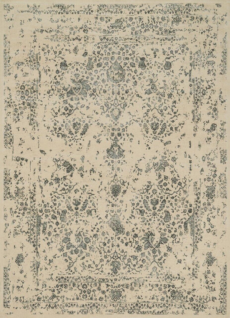 Durdham Park Ivory/Slate Area Rug Rug Size: Rectangle 12' x 15'