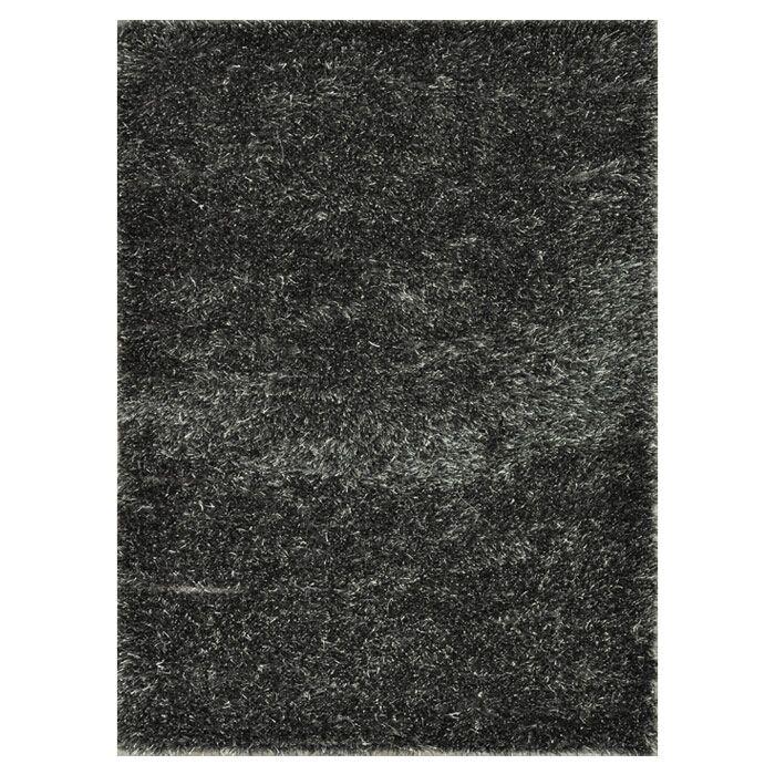 Kastner Hand-Woven Black/Gray Area Rug Rug Size: Rectangle 7'6
