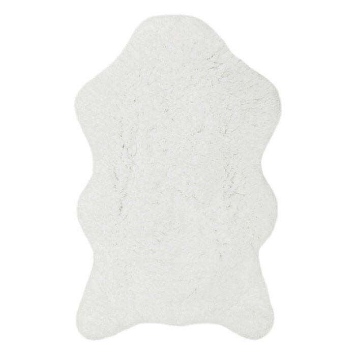 Shear Softness White Rug Rug Size: Novelty 3' x 5'