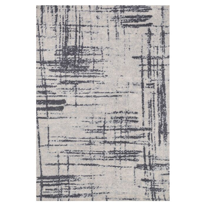 Wilde Gray/Charcoal Area Rug Rug Size: Rectangle 5' x 7'6