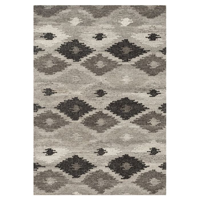 Bentleyville Gray/Charcoal Area Rug Rug Size: Rectangle 5' x 7'6