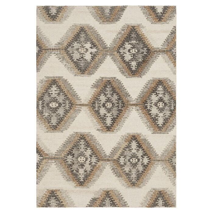 Bentleyville Ivory Area Rug Rug Size: Rectangle 3'6