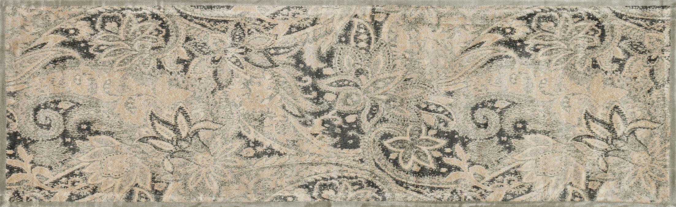 Keever Ivory Area Rug Rug Size: Runner 2'4