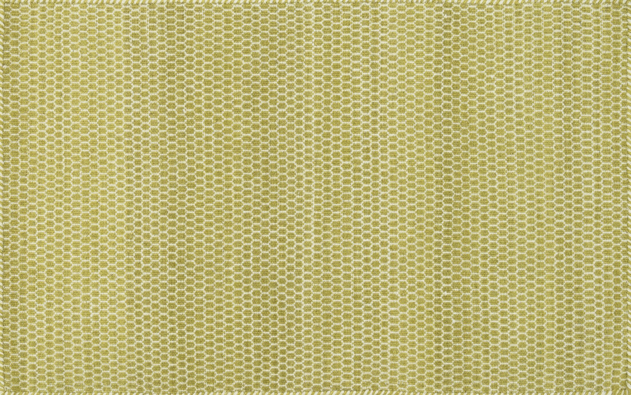 Quays Hand-Woven Citron Gold/Yellow Area Rug Rug Size: Rectangle 2'3