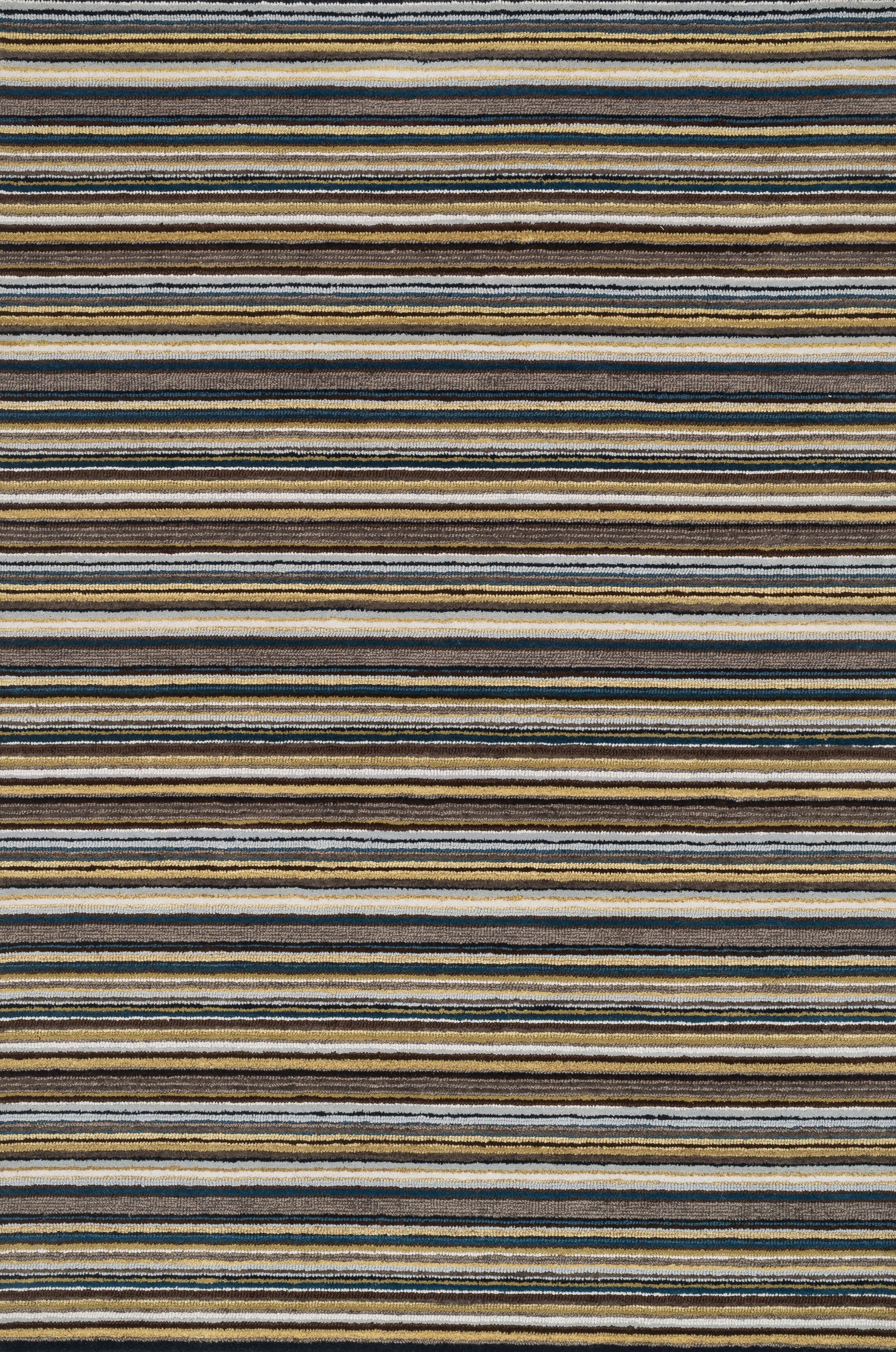 Kirksey Hand-Tufted Gray Area Rug Rug Size: Rectangle 3'6