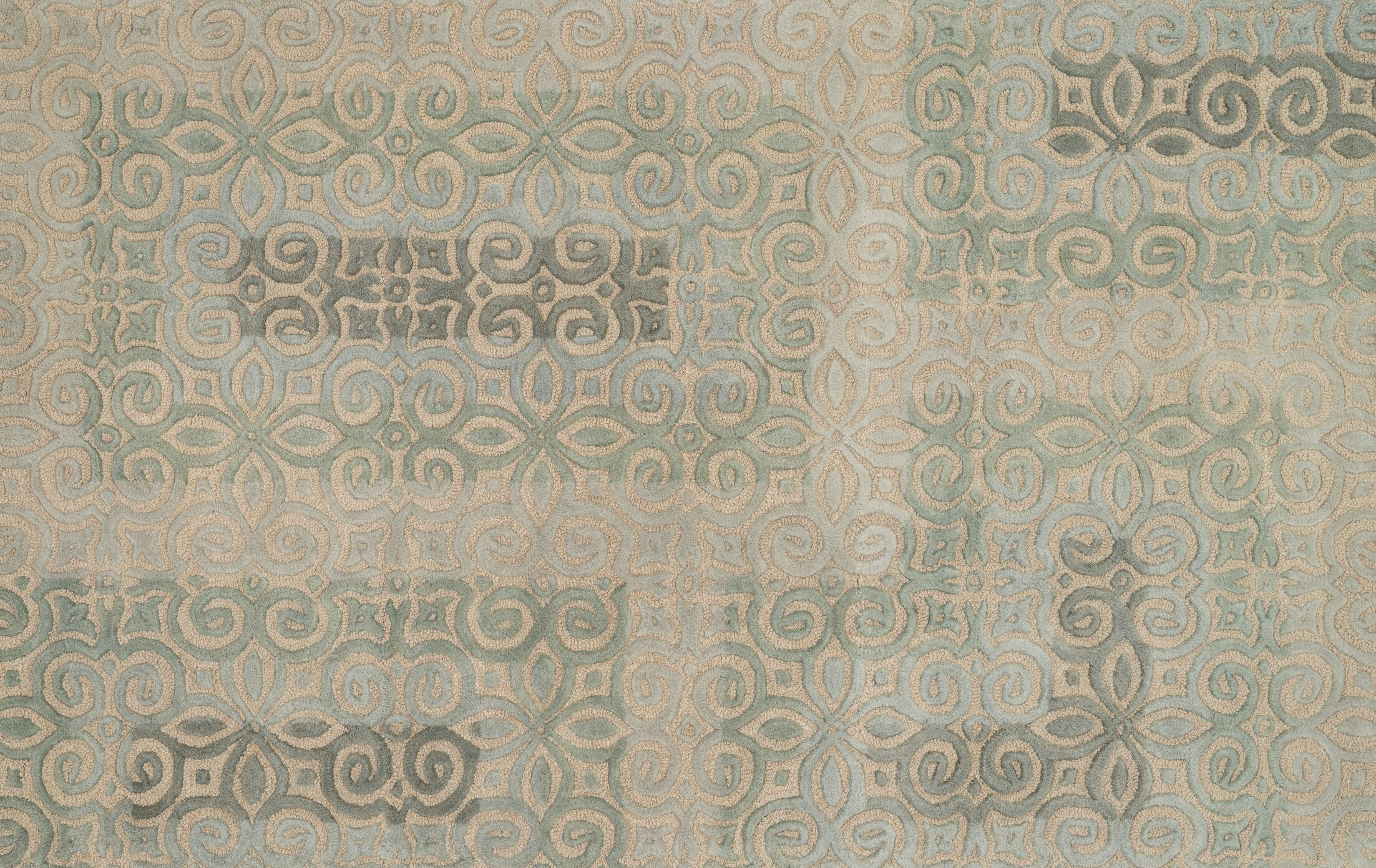 Geary Beige Area Rug Rug Size: Rectangle 5' x 7'6