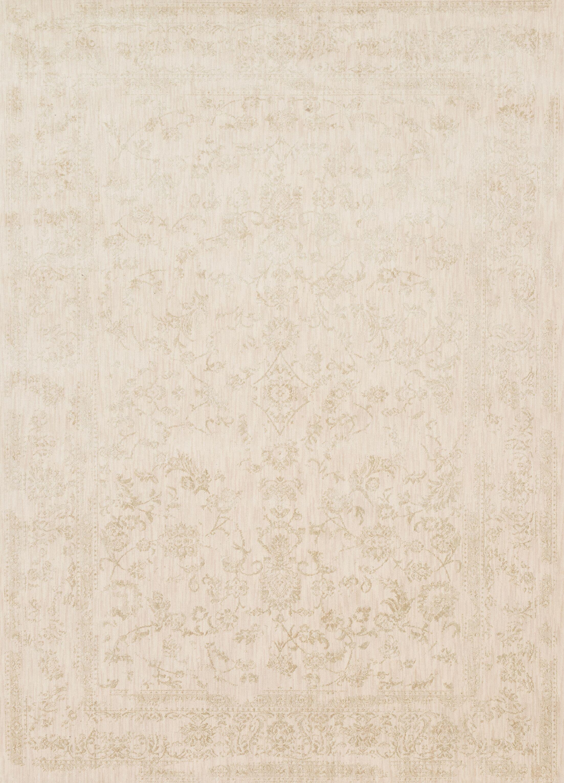 Abelardo Ivory Area Rug Rug Size: Rectangle 7'10