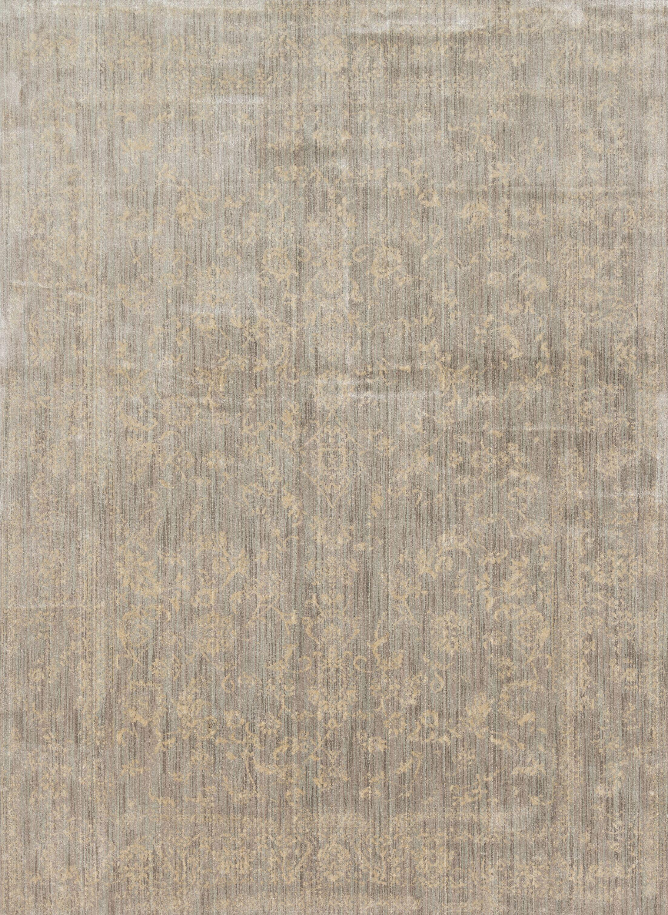 Abelardo Stone/Ivory Area Rug Rug Size: Rectangle 5'3