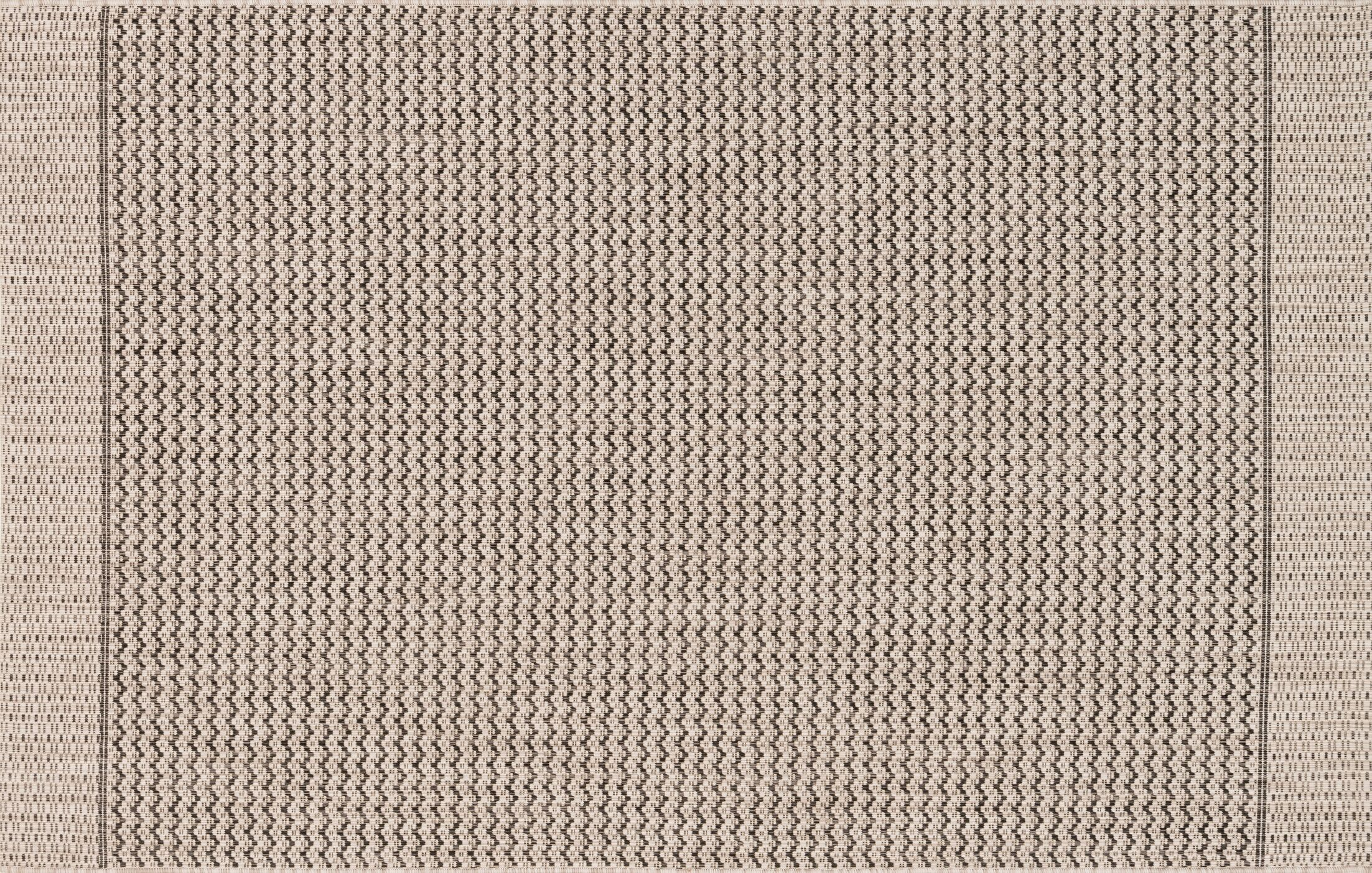 Bundy Gray Indoor/Outdoor Area Rug Rug Size: Rectangle 9'2
