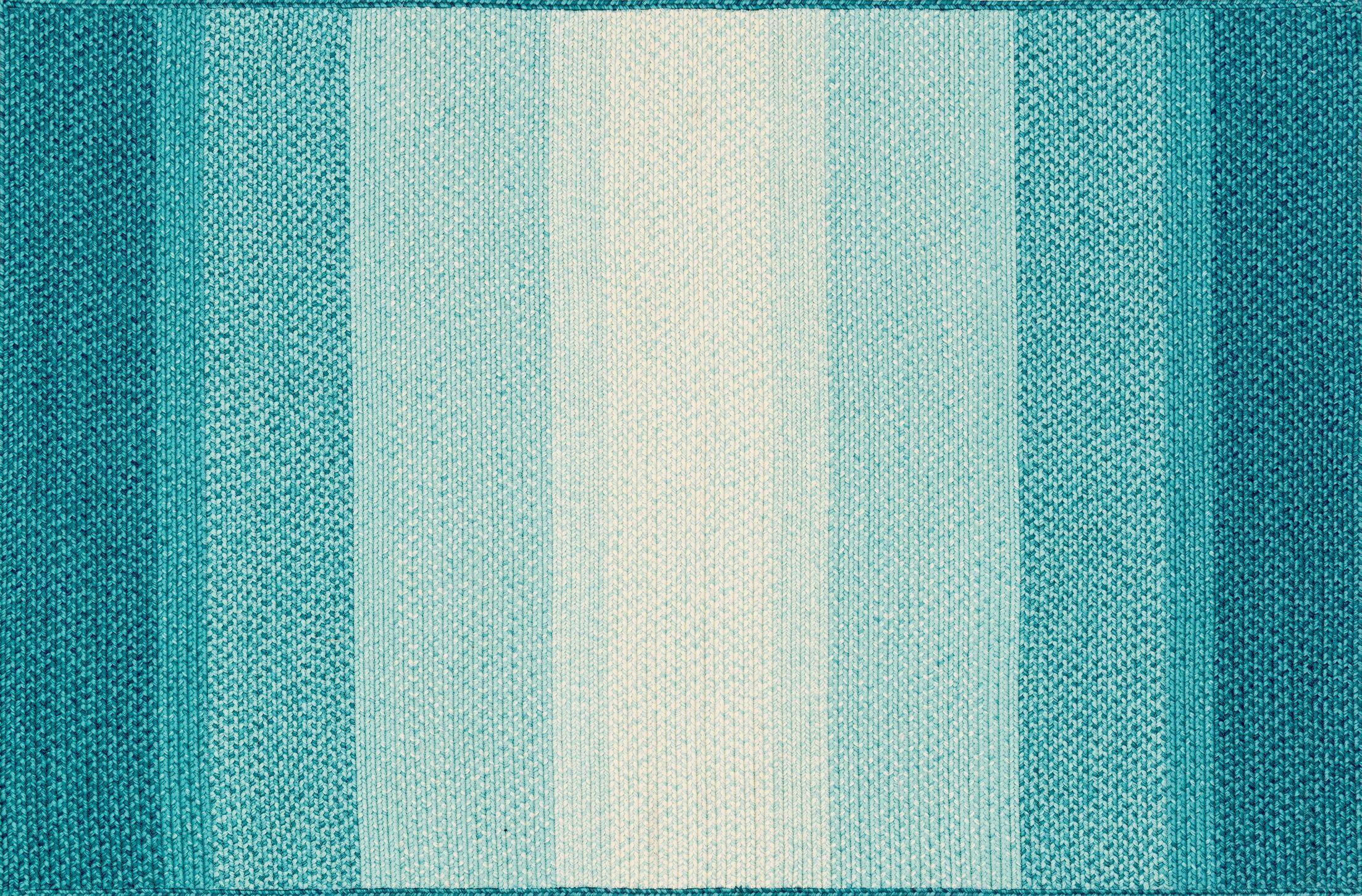 Barta Blue Indoor/Outdoor Area Rug Rug Size: Rectangle 3'6