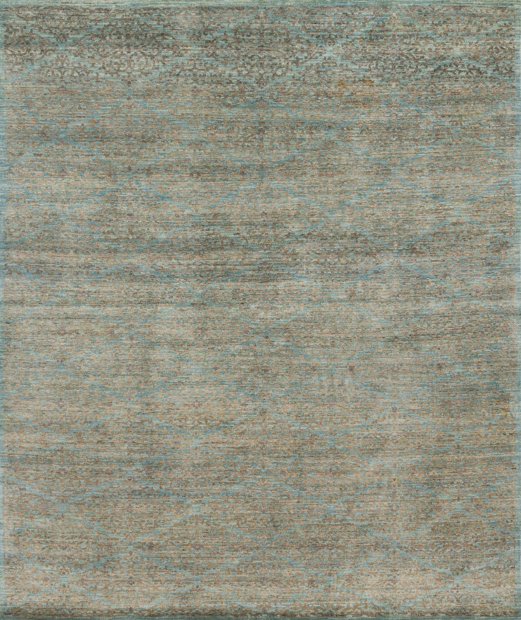 Claussen Hand-Knotted Sand Area Rug