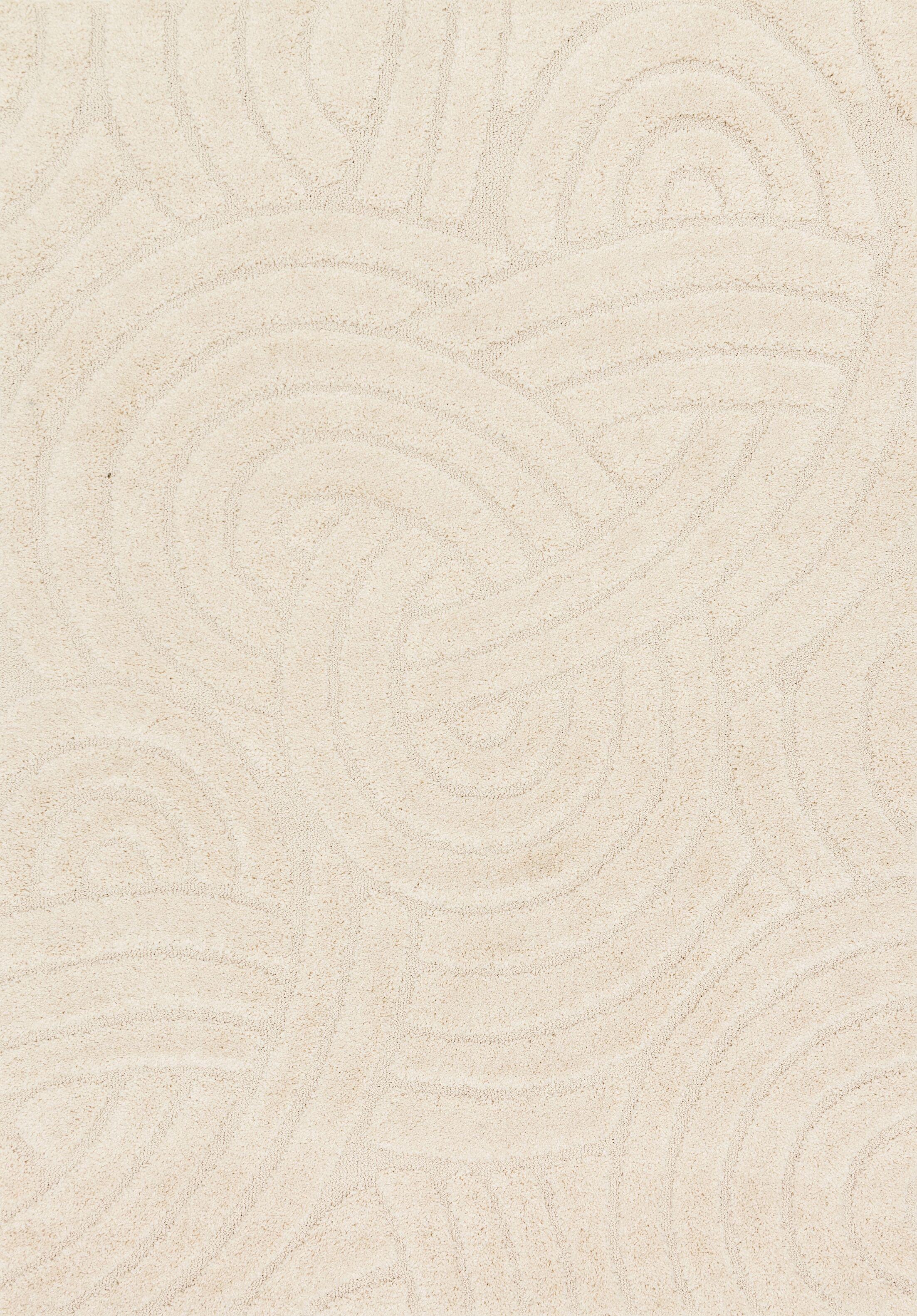 Dania Ivory Area Rug Rug Size: Rectangle 7'7