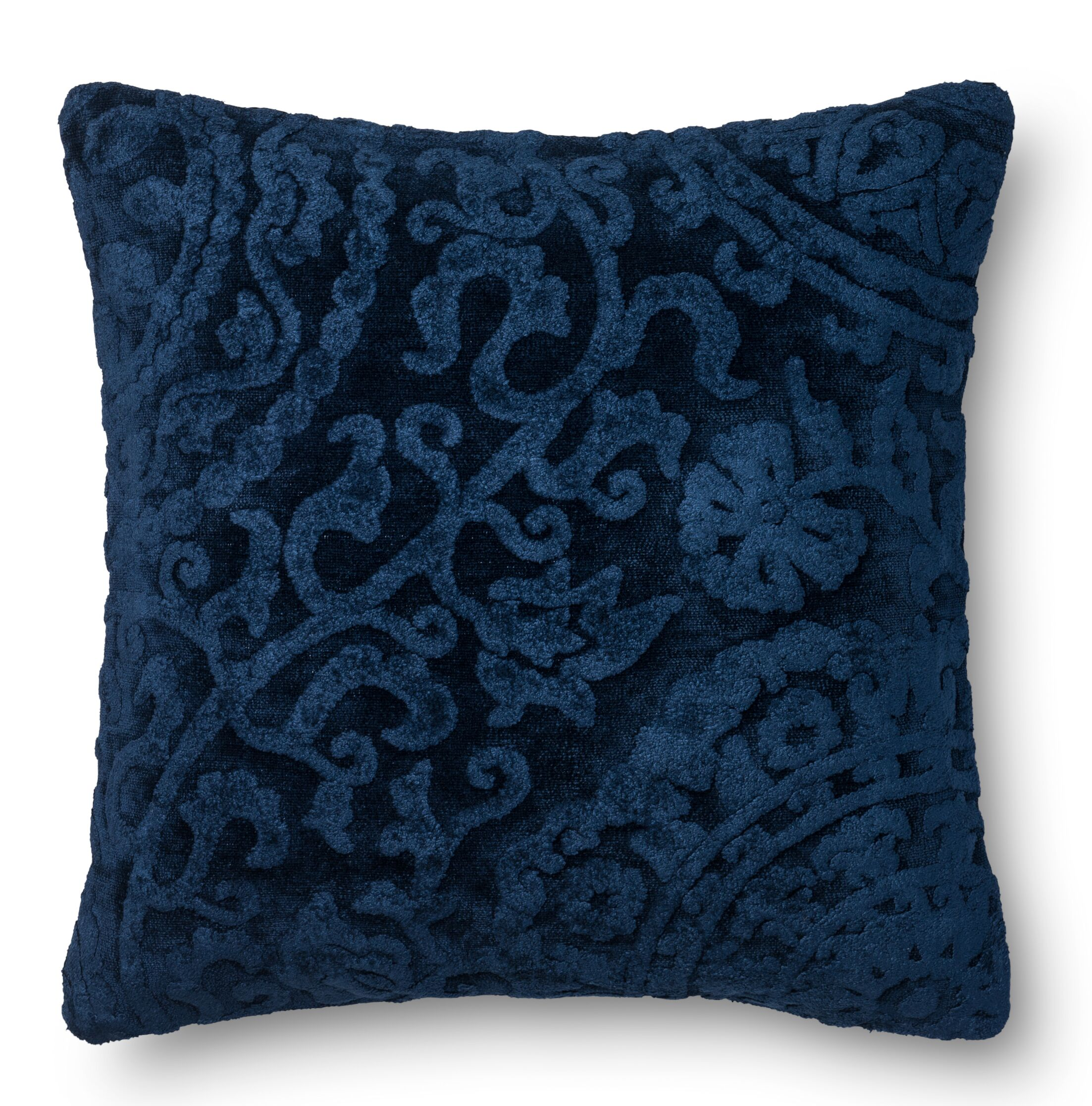 Leavens Throw Pillow Color: Indigo