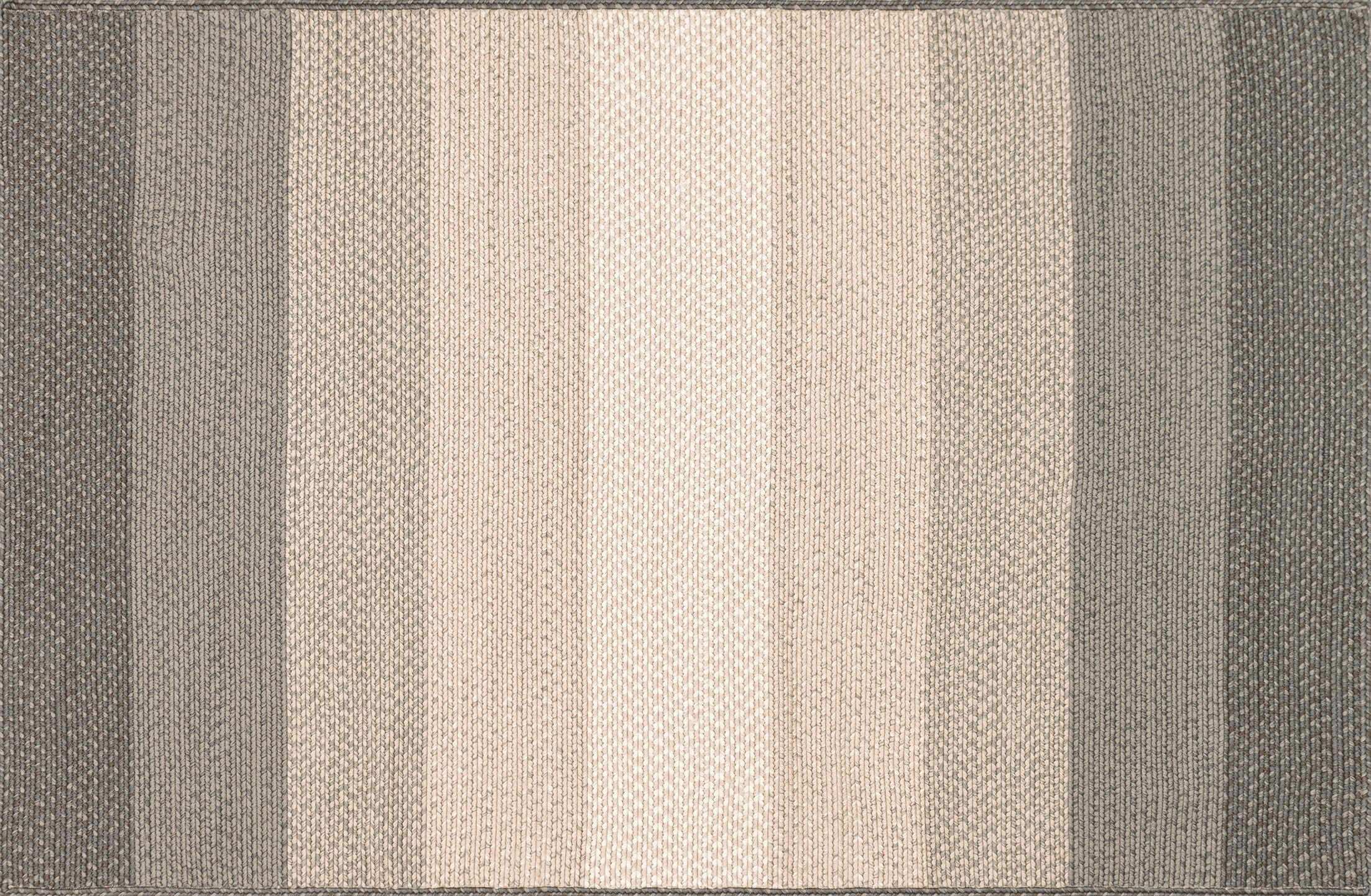 Barta Hand-Braided Neutral Indoor/Outdoor Area Rug Rug Size: Rectangle 5' x 7'6