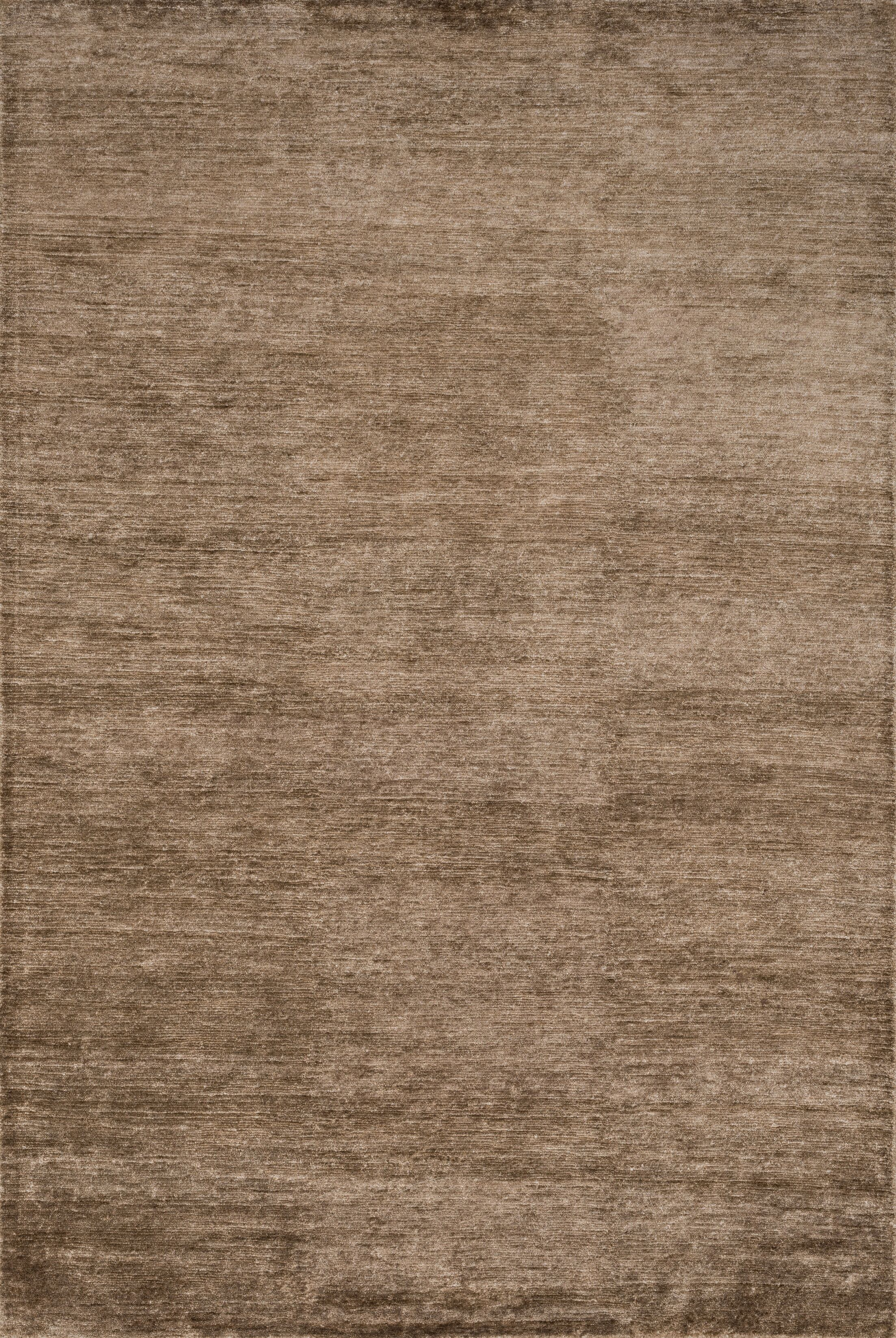 Hively Hand-Knotted Brown Area Rug Rug Size: Rectangle 8'6