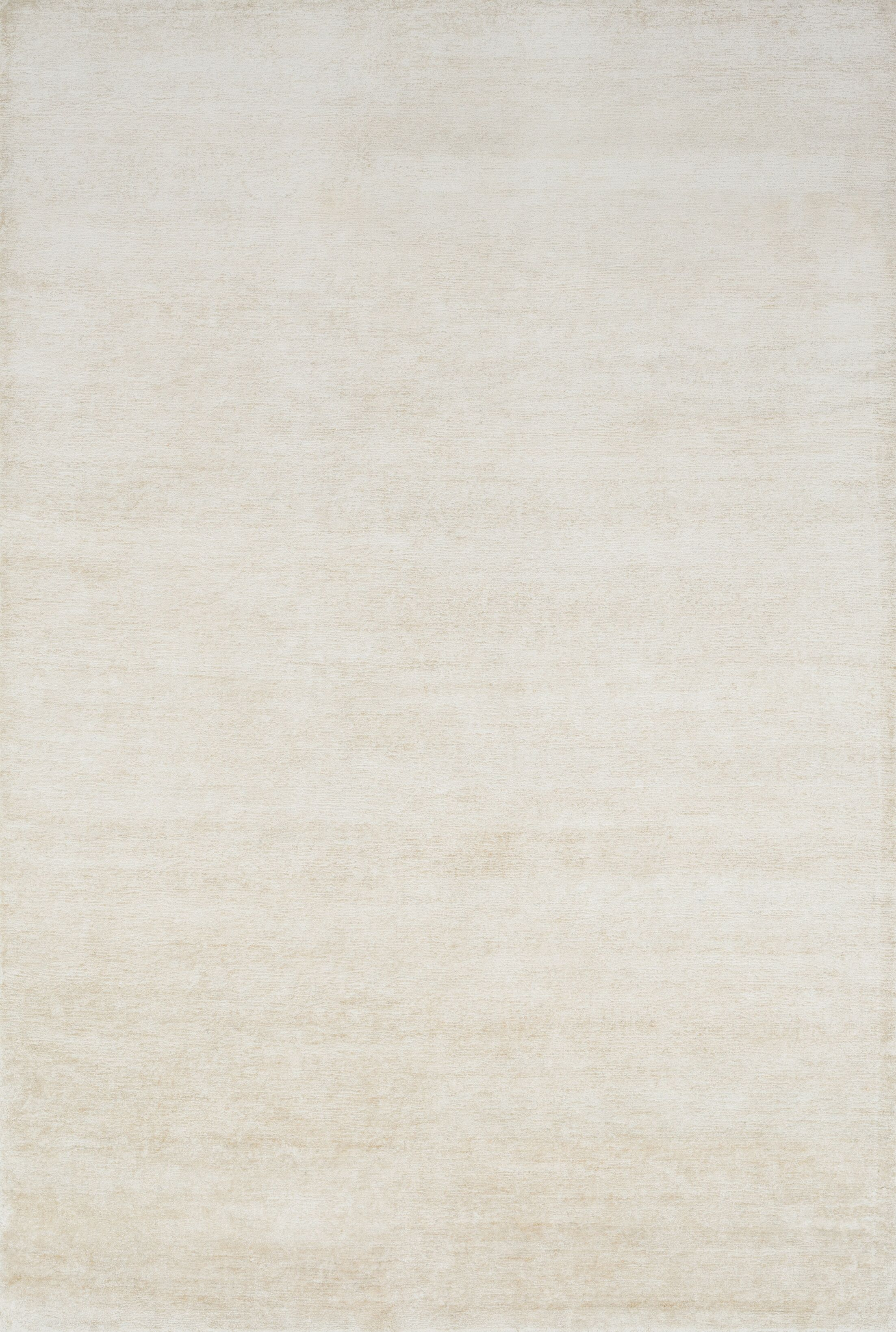 Hively Hand-Knotted Ivory Area Rug Rug Size: Rectangle 8'6