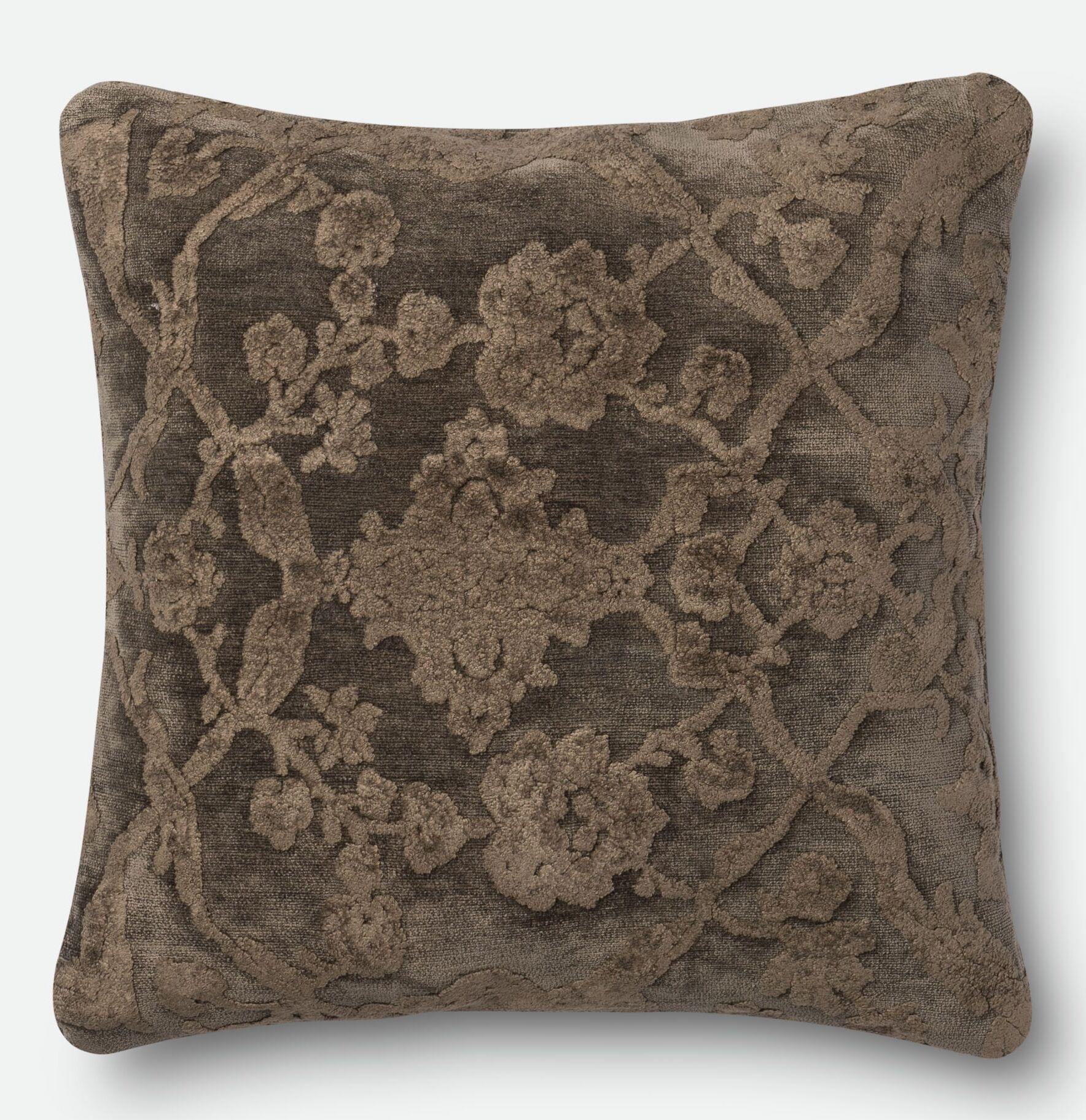 Lebrun Throw Pillow Size: 18