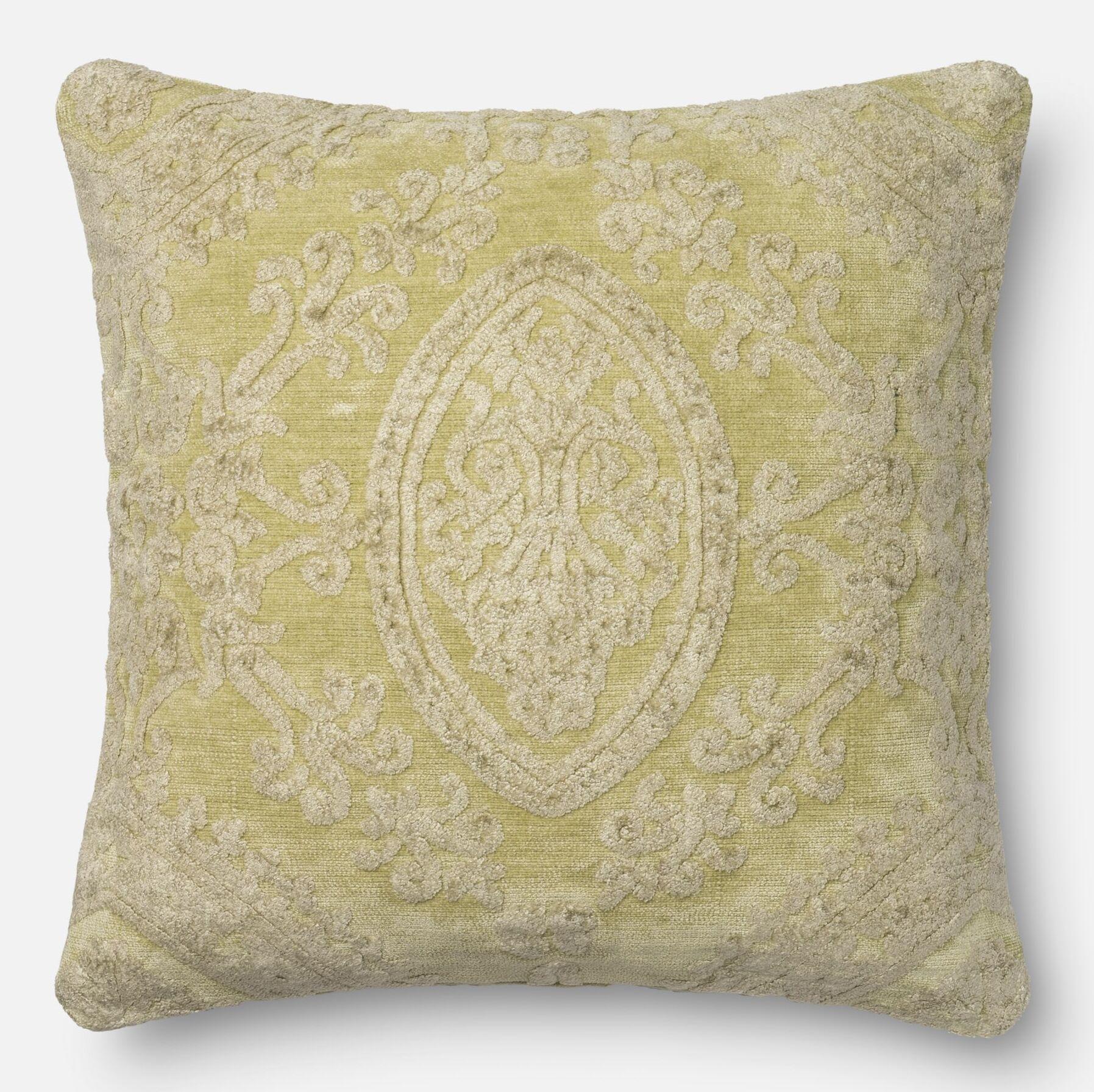 Lederer Pillow Cover Color: Pistachio