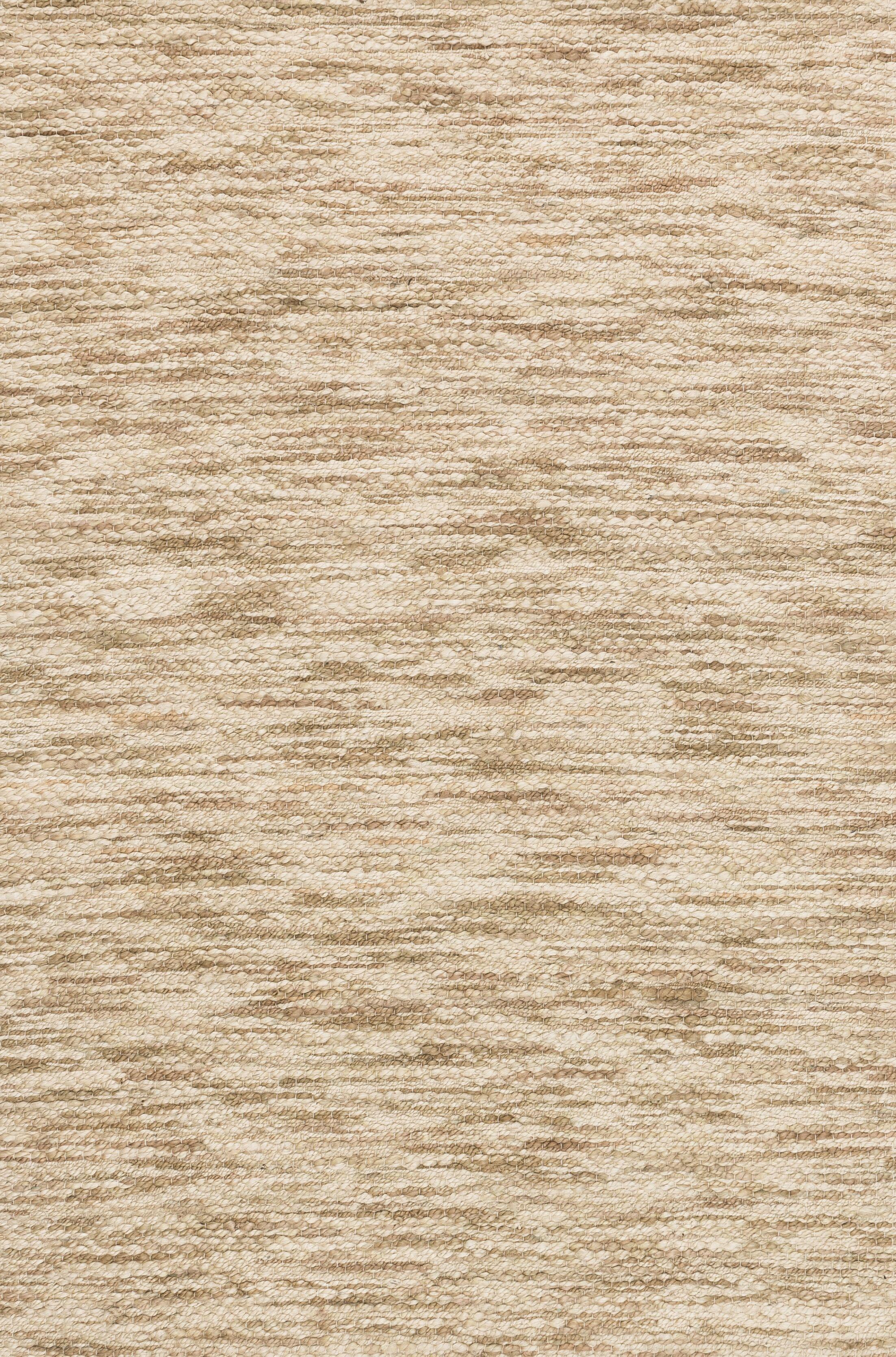 Turcios Hand-Woven Beige Area Rug Rug Size: Rectangle 5' x 7'6