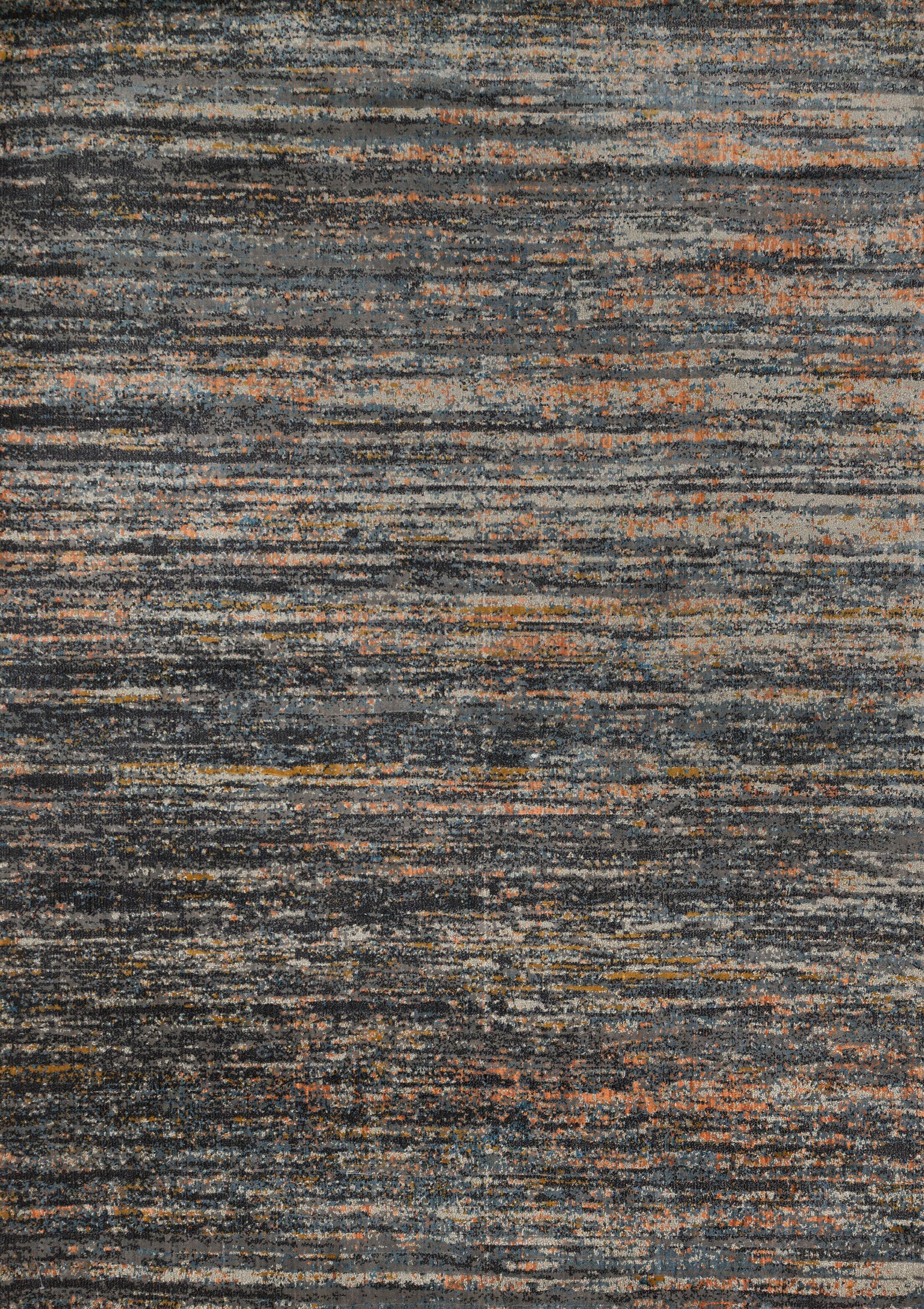 Dangelo Gray Area Rug Rug Size: Rectangle 7'10