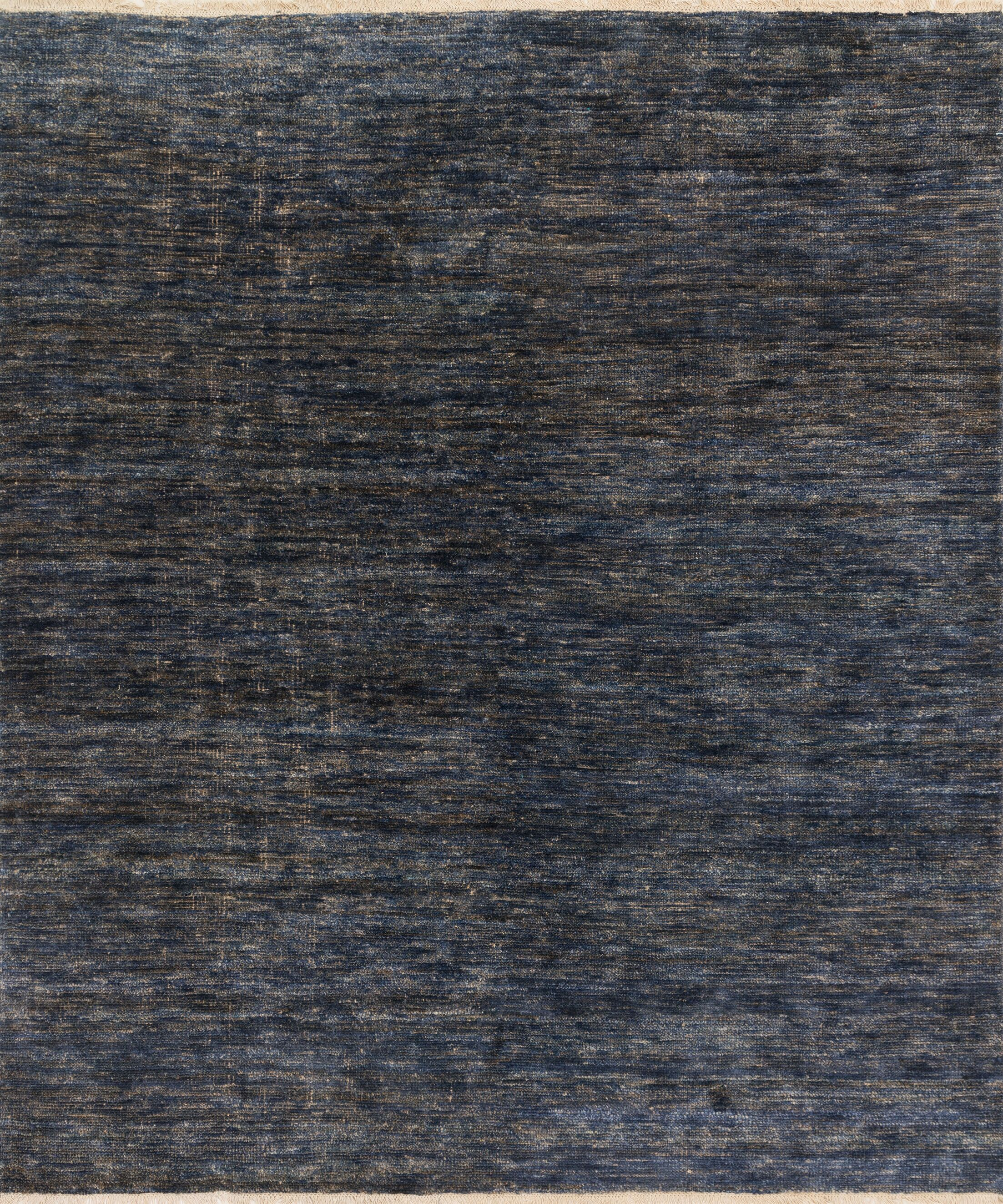 Moiseiev Hand-Knotted Blue Area Rug Rug Size: Rectangle 7'9