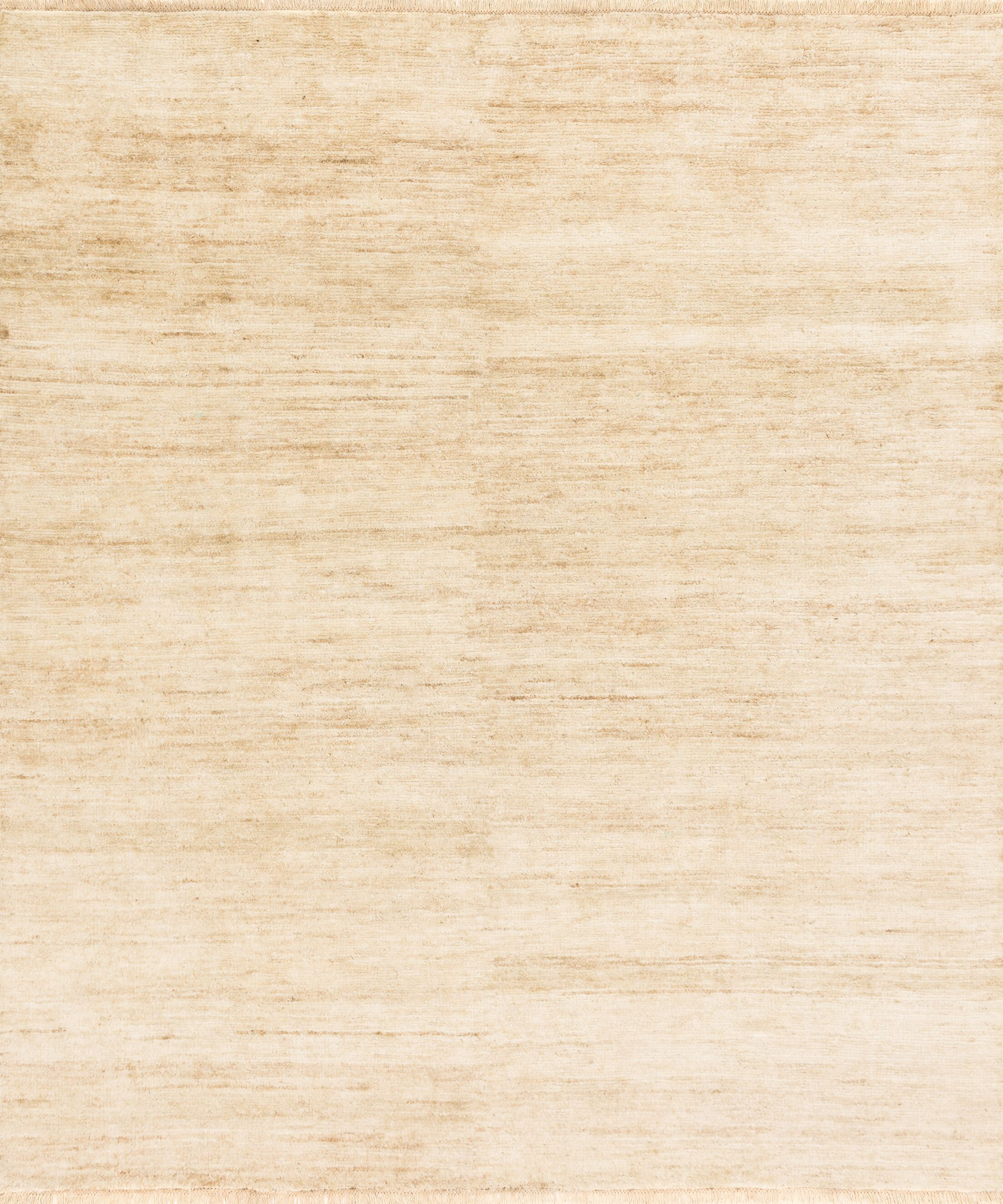 Moiseiev Hand-Knotted Beige Area Rug Rug Size: Rectangle 5'6