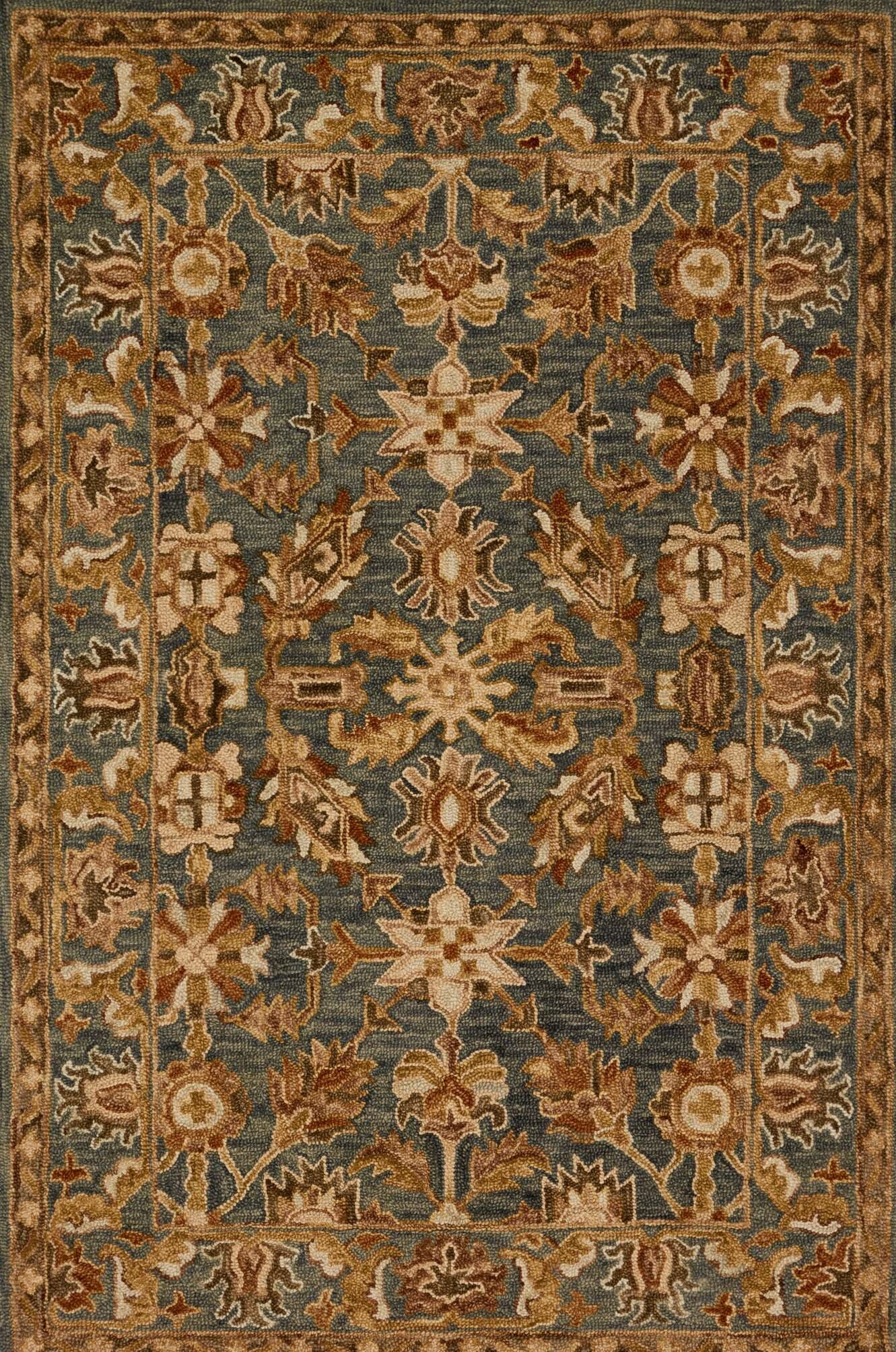 Watertown Oriental Gray/Brown Area Rug Rug Size: Rectangle 9'3