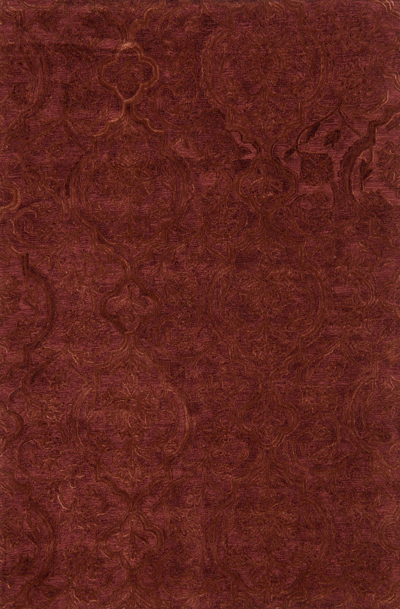 Firger Hand-Tufted Red Area Rug Rug Size: Rectangle 3'6