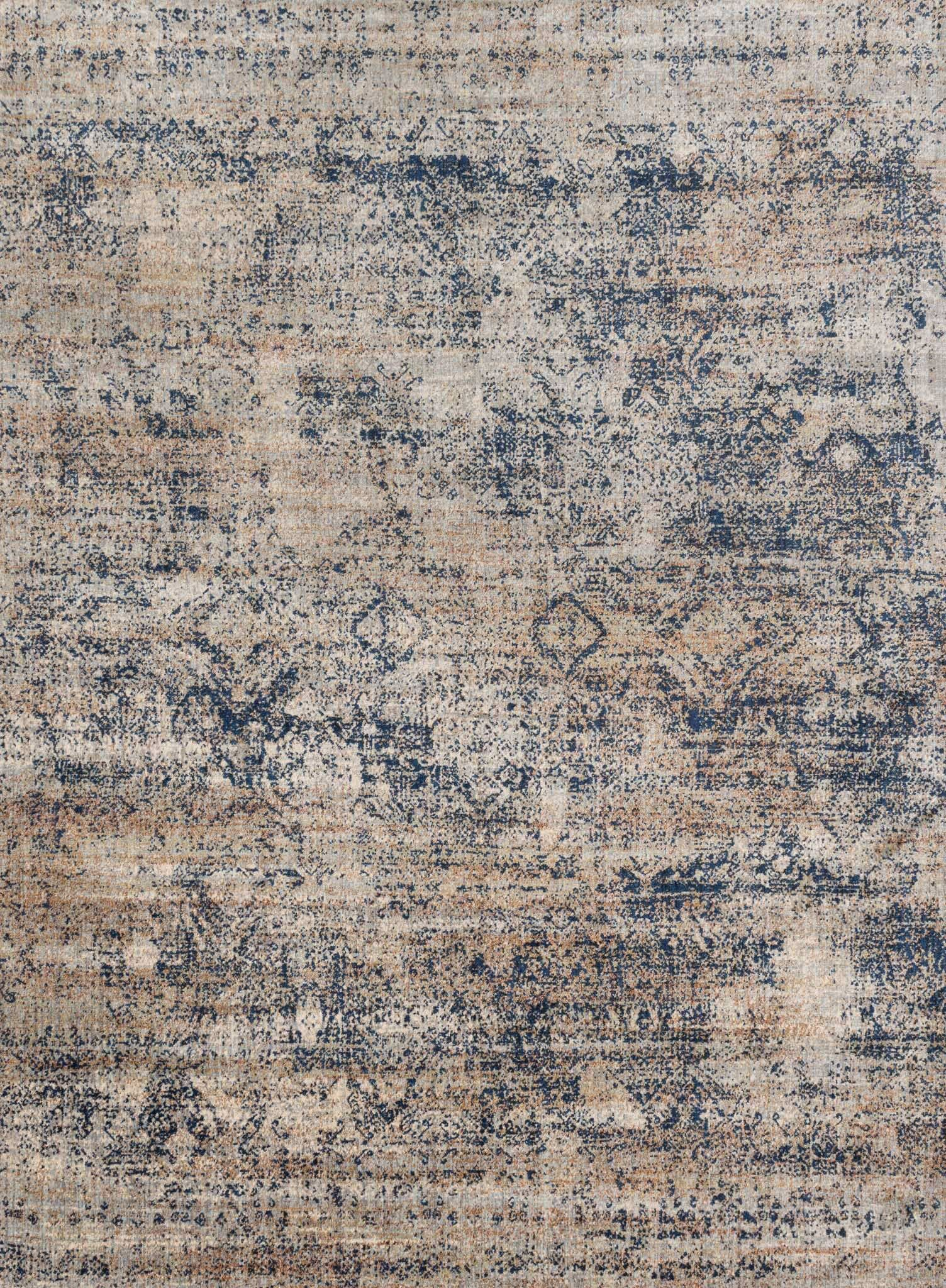 Postale Blue/Mist Blue Area Rug Rug Size: Rectangle 13' x 18'