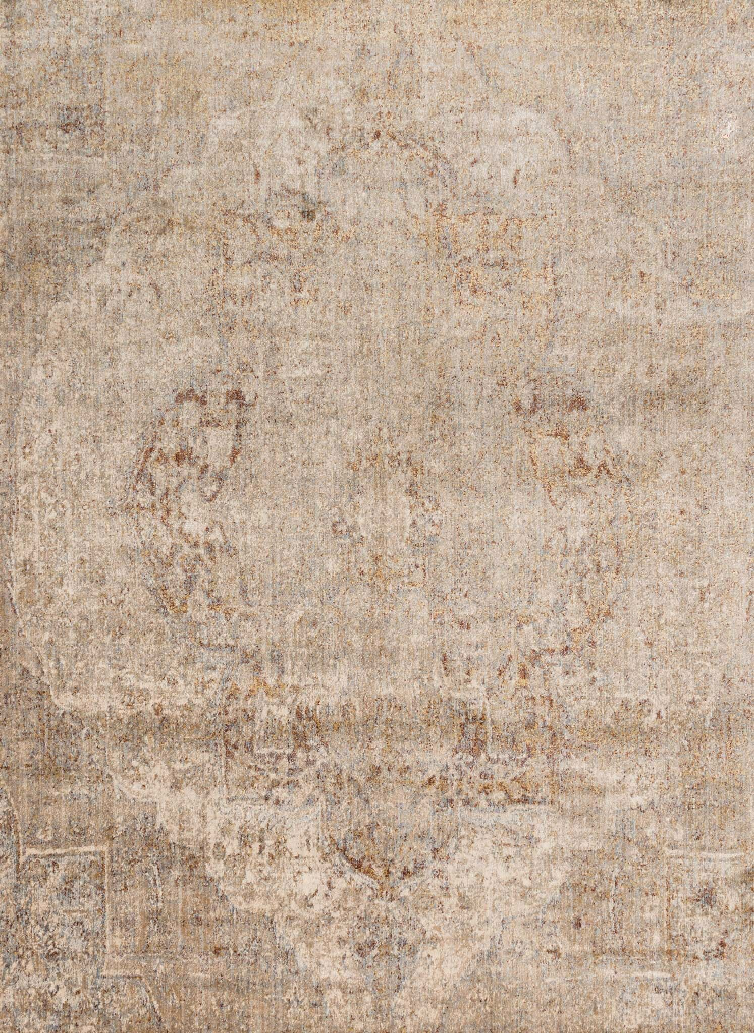 Central Jefferson Power Loom Desert Indoor Area Rug Rug Size: Runner 2'7