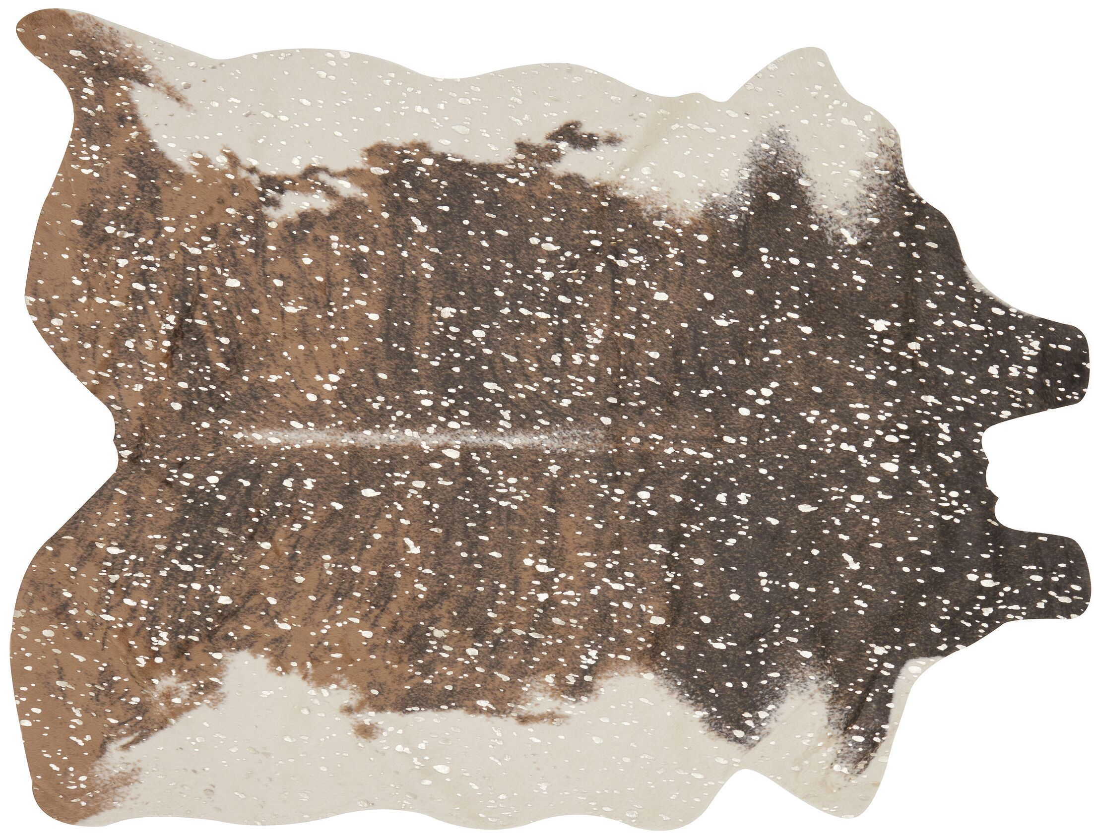 Duran Walnut/Champagne Area Rug Rug Size: Rectangle 5' X 6'6