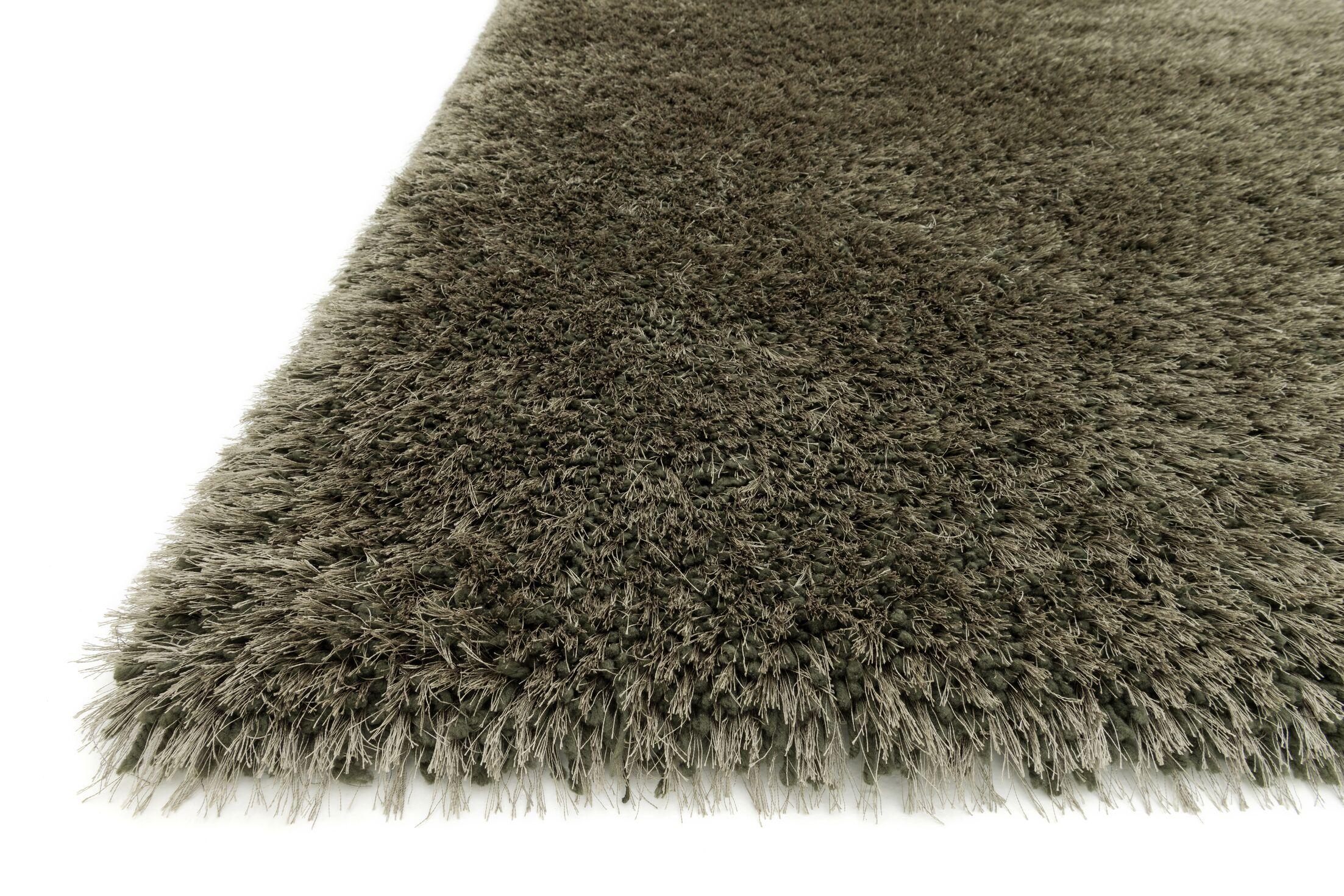 Tunley Hand-Tufted Ash Area Rug Rug Size: Rectangle 7'9