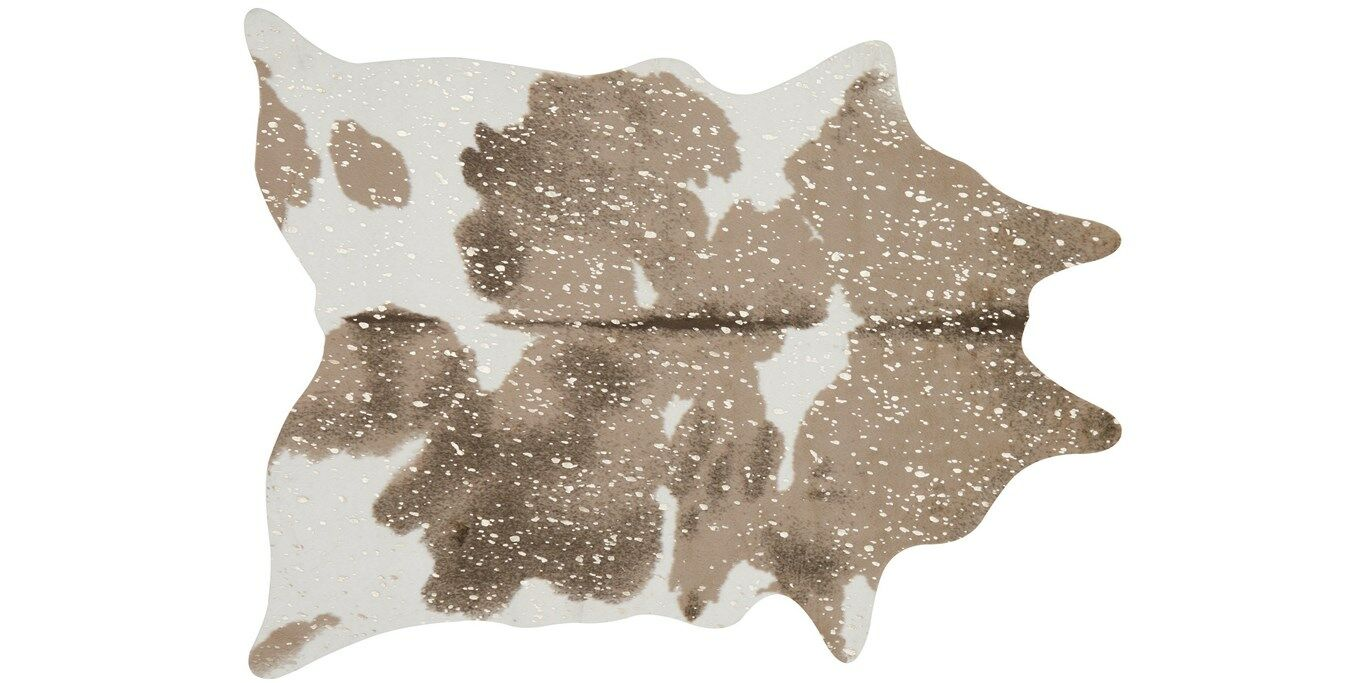 Duran Taupe/Champagne Area Rug Rug Size: Rectangle 6'2