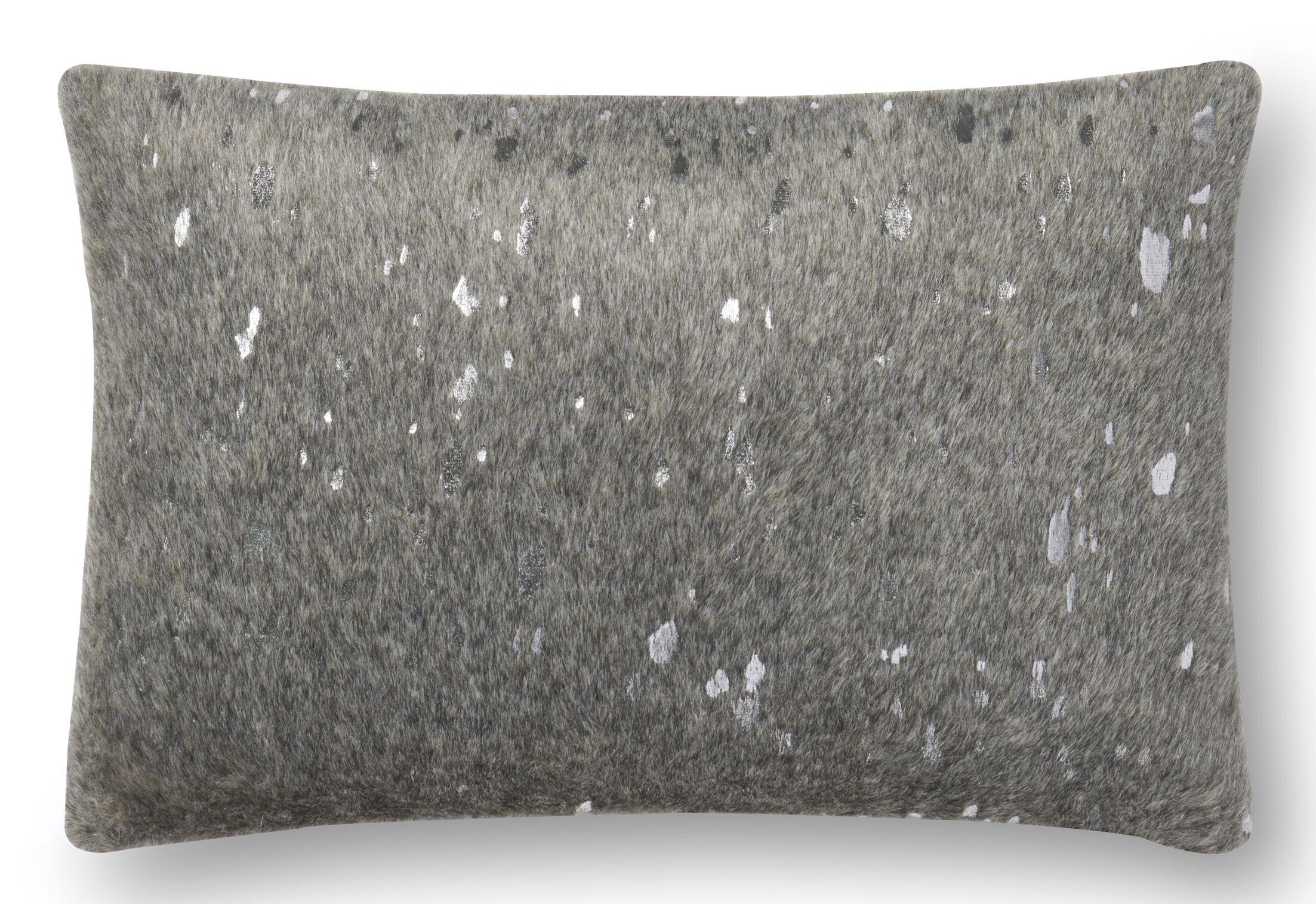 Heath Lumbar Pillow Color: Gray