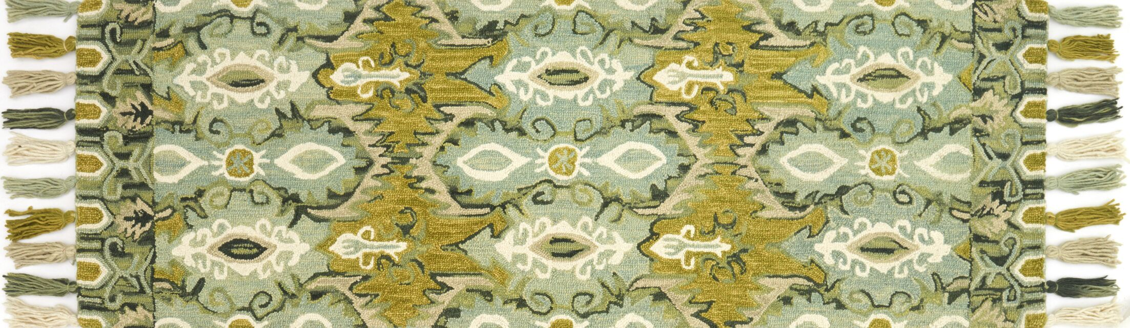 Zambrana Blue/Green Area Rug Rug Size: Rectangle 5' x 7'6
