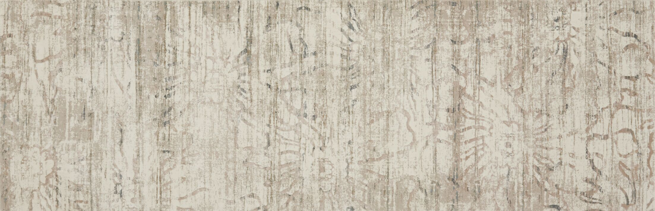 Abella Cream Area Rug Rug Size: Runner 2'7
