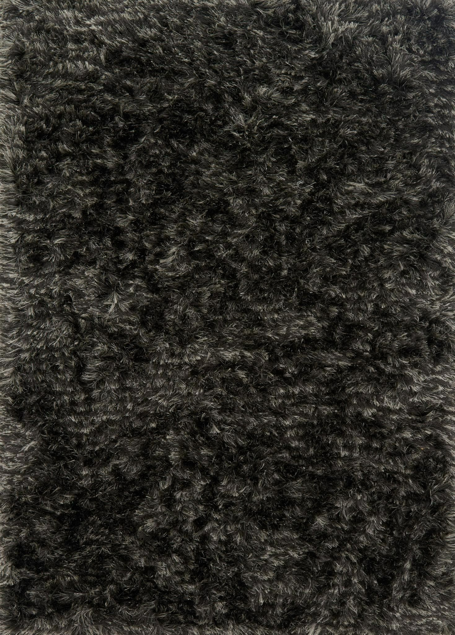 Elliana Shag Hand-Tufted Charcoal Area Rug Rug Size: Rectangle 9'3