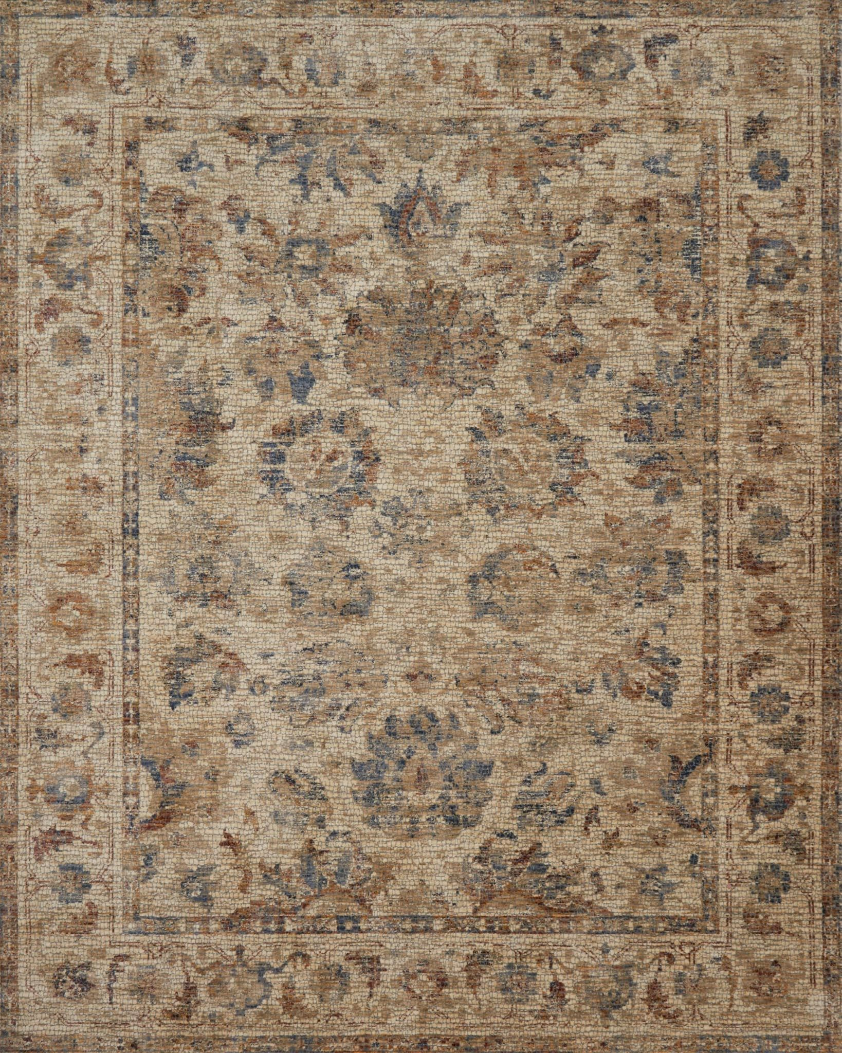Dietrick Natural Area Rug Rug Size: Rectangle 7'10
