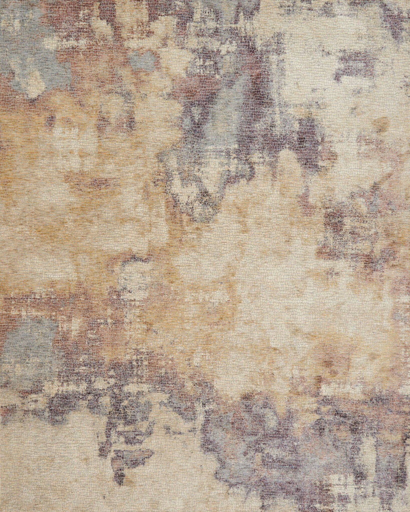 Dietrick Beige/Berry Area Rug Rug Size: Rectangle 7'10