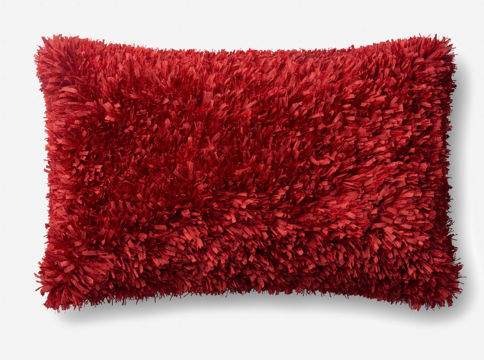 Brookstead Lumbar Pillow Color: Red, Fill Material: Down/Feather, Type: Pillow
