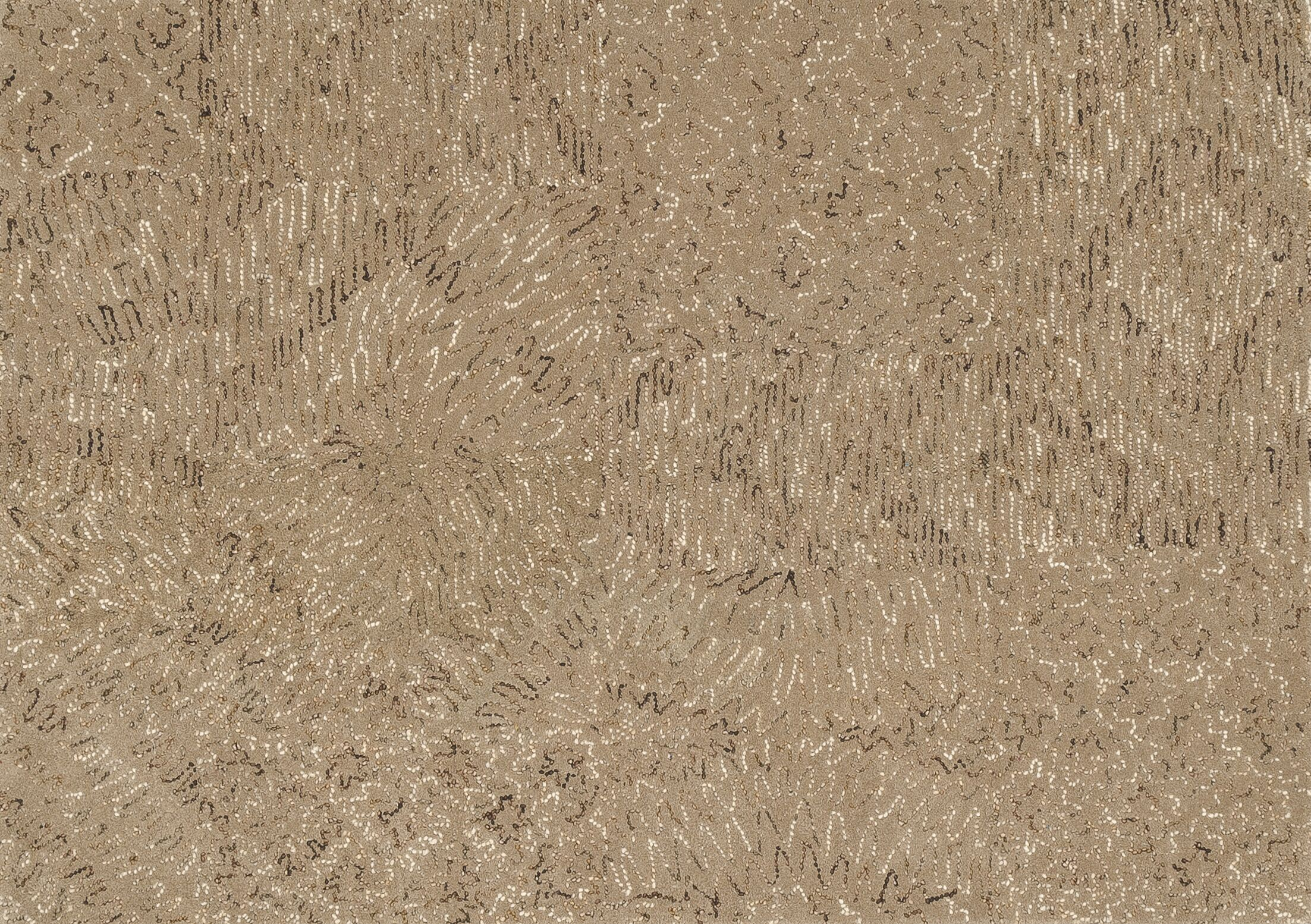 Zager Hand-Tufted Brown Area Rug Rug Size: Rectangle 3'6