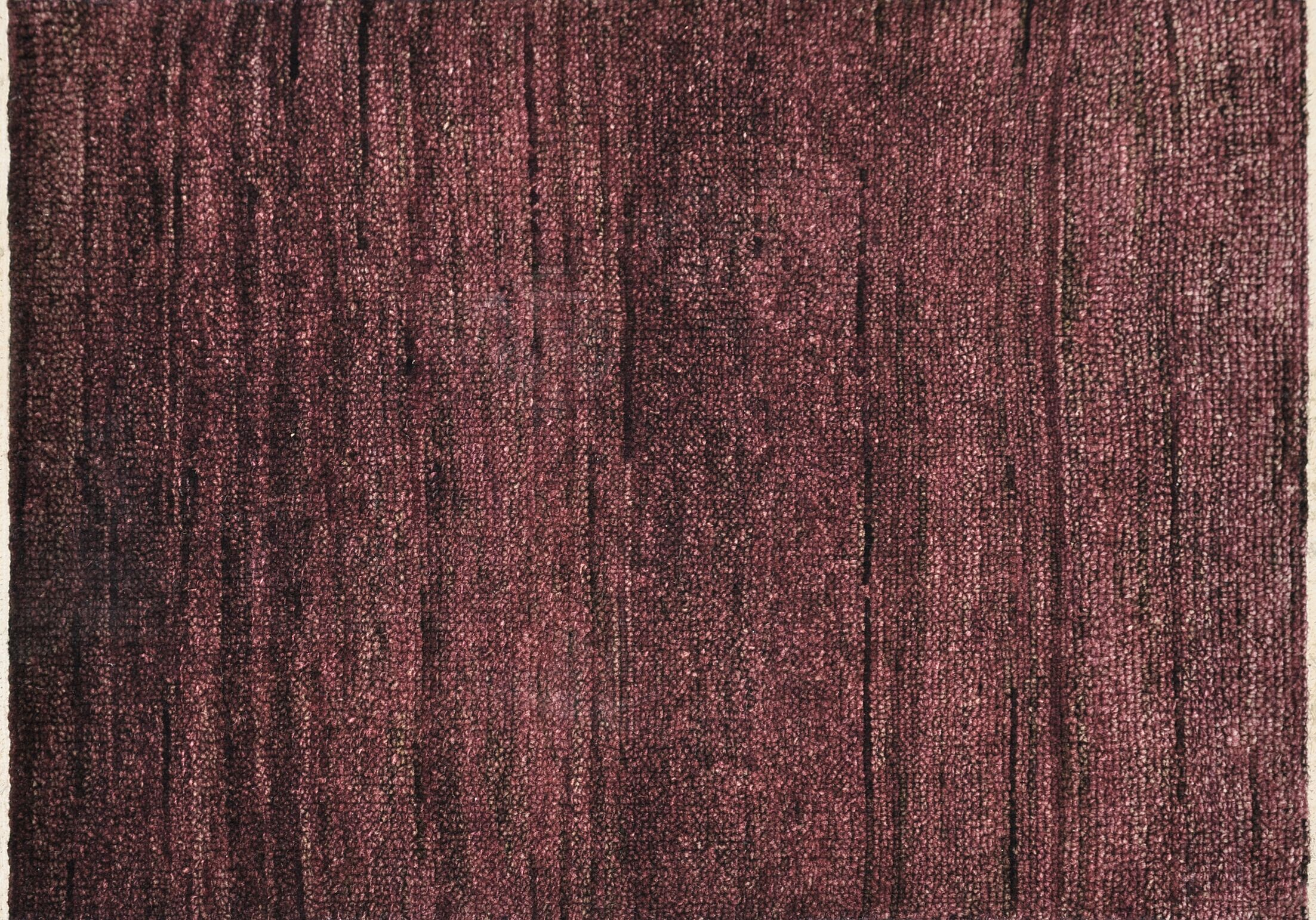 Clearman Hand-Knotted Plum Area Rug Rug Size: Rectangle 8'6