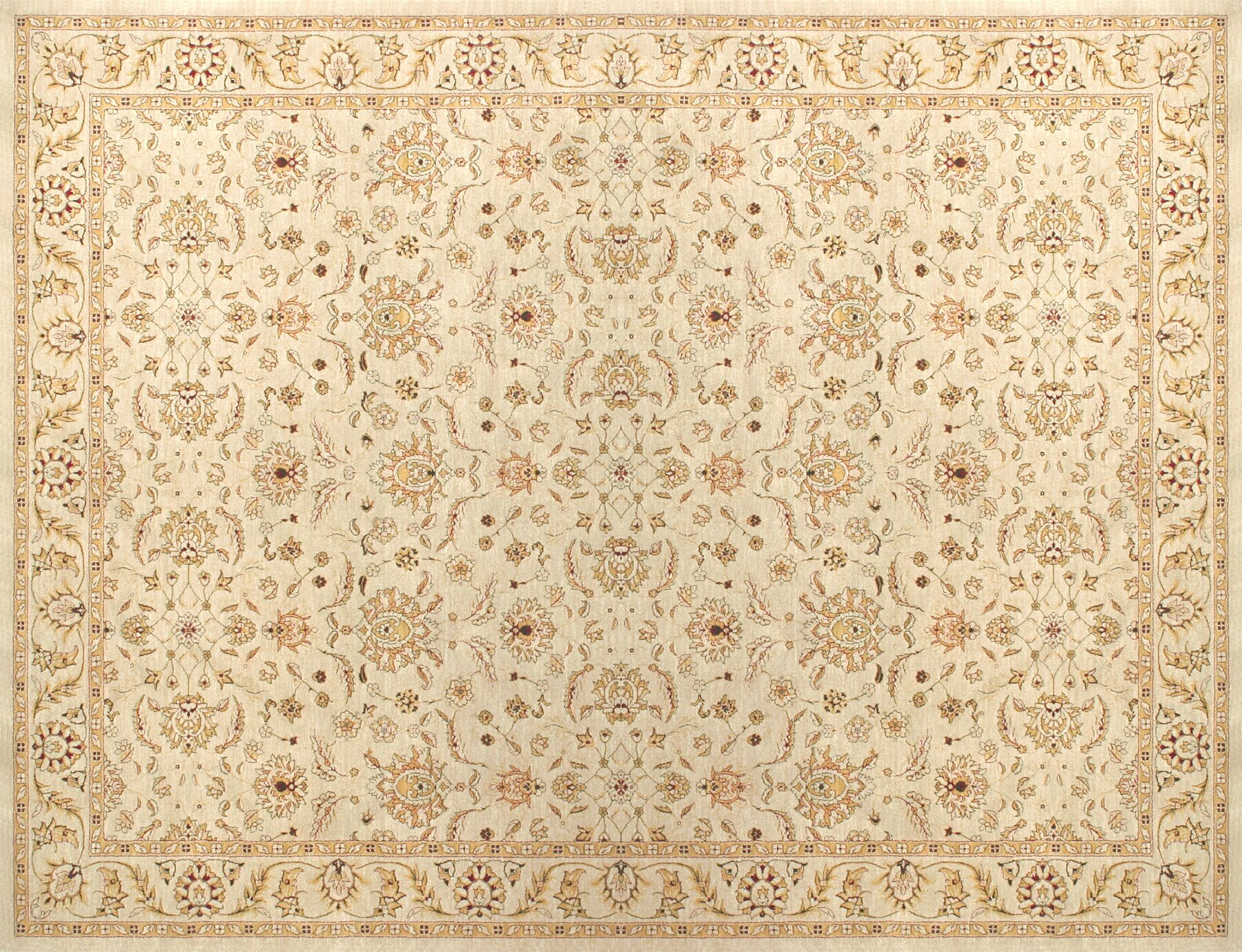 Dolphus Beige Area Rug Rug Size: Rectangle 9'8