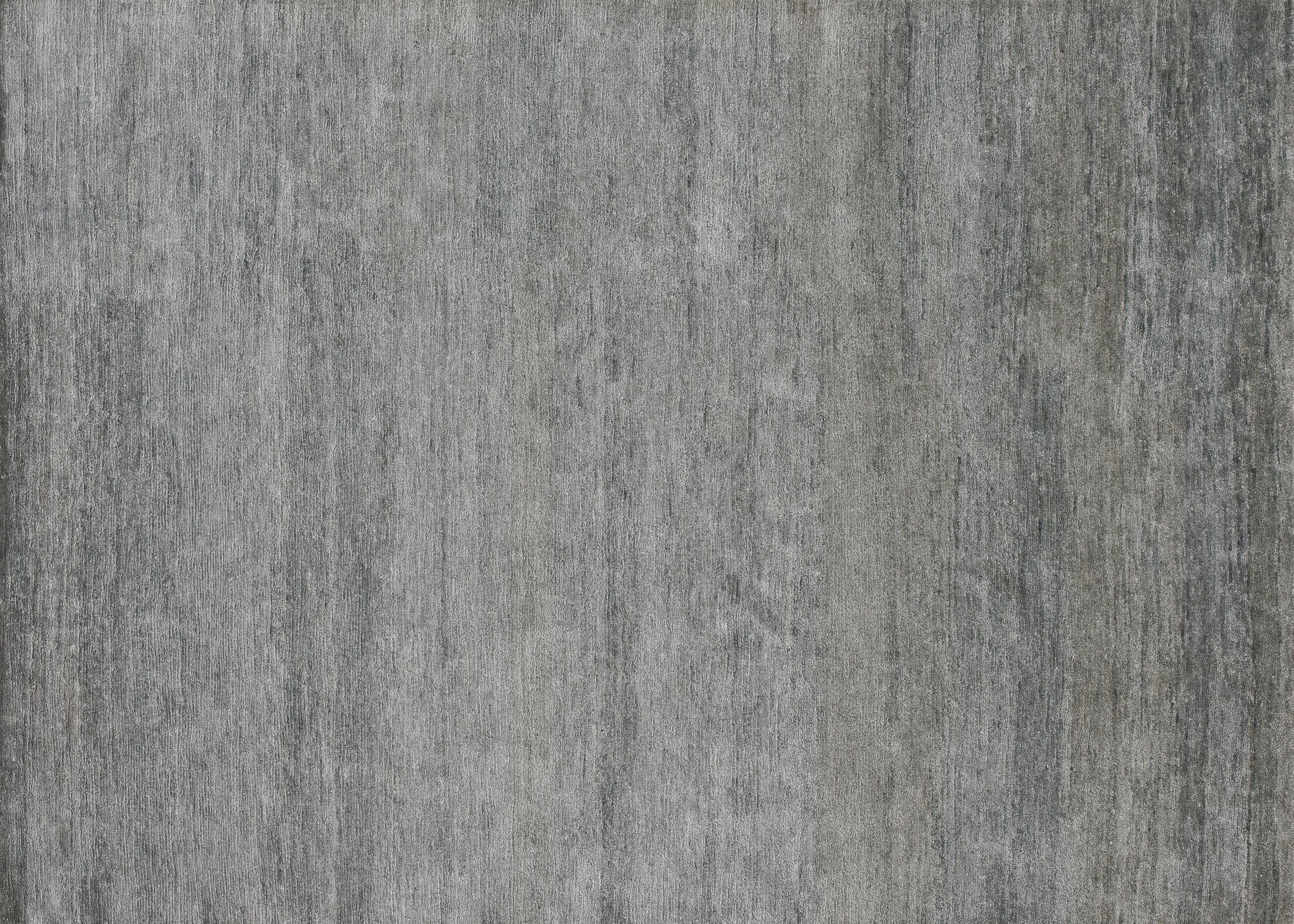 Hively Hand-Knotted Gray Area Rug Rug Size: Rectangle 8'6